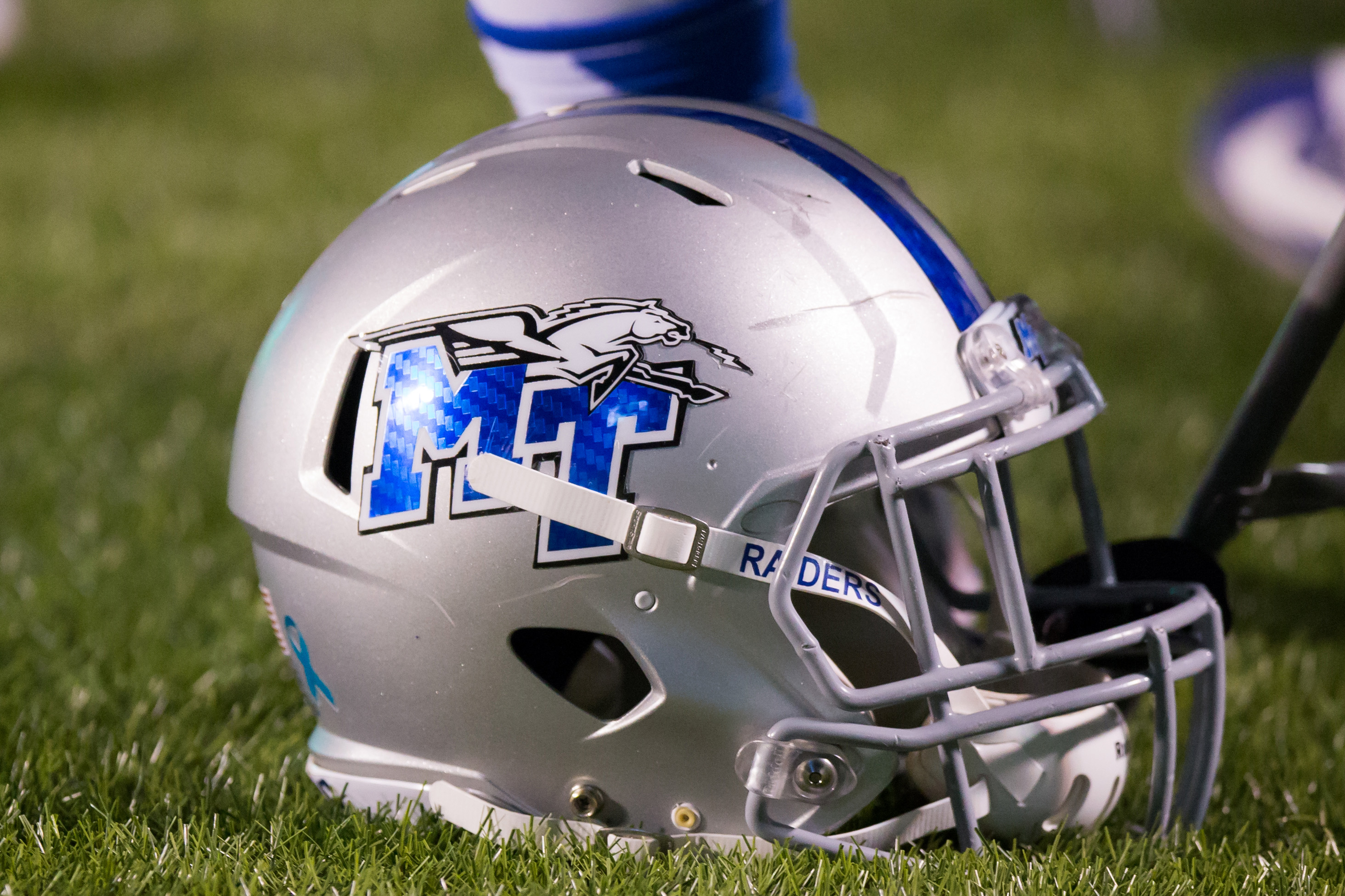 NCAA FOOTBALL: NOV 12 Middle Tennessee at Marshall