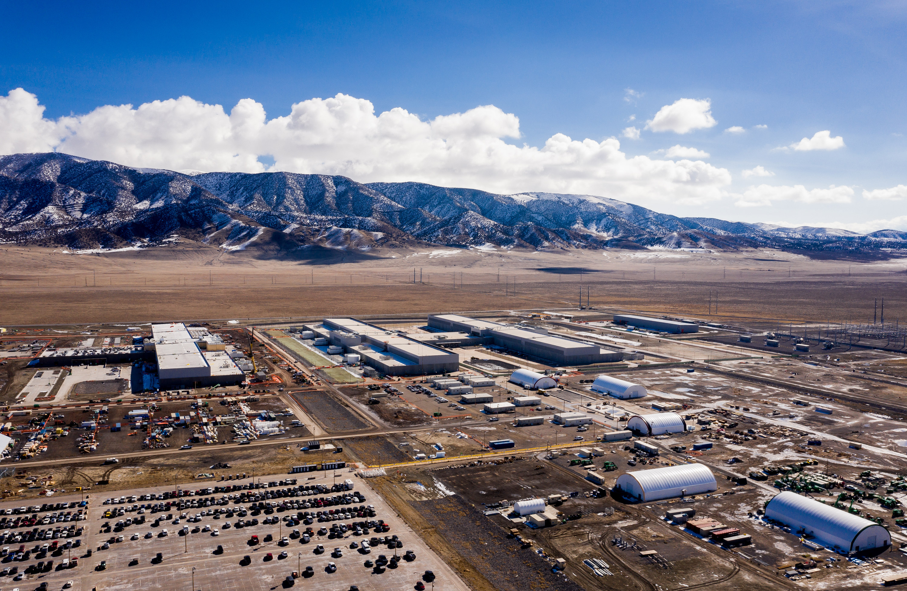 Facebook has opened the first phase of its massive Eagle Mountain data center.