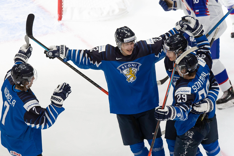 Finland v Slovakia: Preliminary Round Group A - 2021 IIHF World Junior Championship
