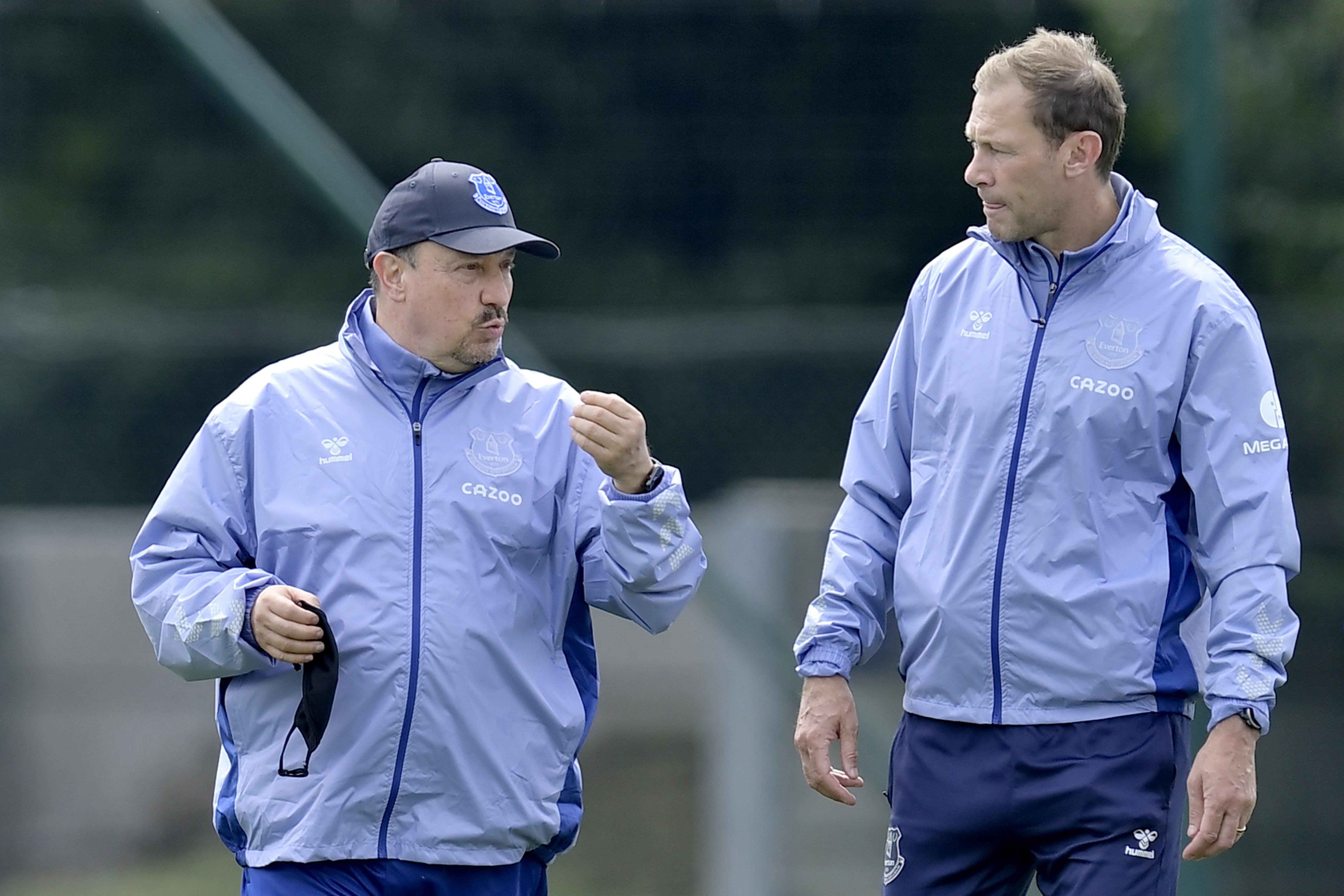 Everton Pre-Season Training Session