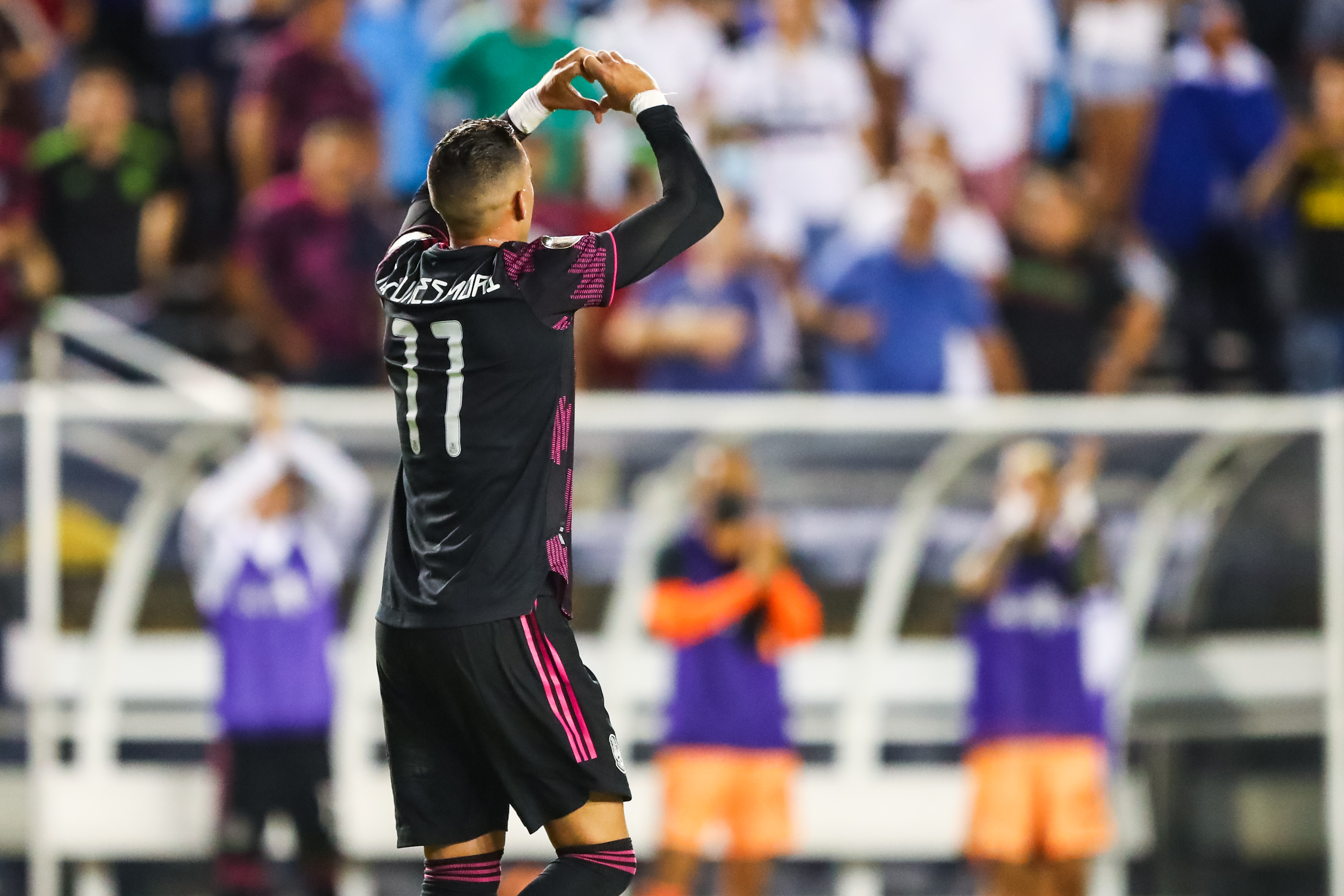 Soccer: CONCACAF Gold Cup Soccer-Guatemala at Mexico