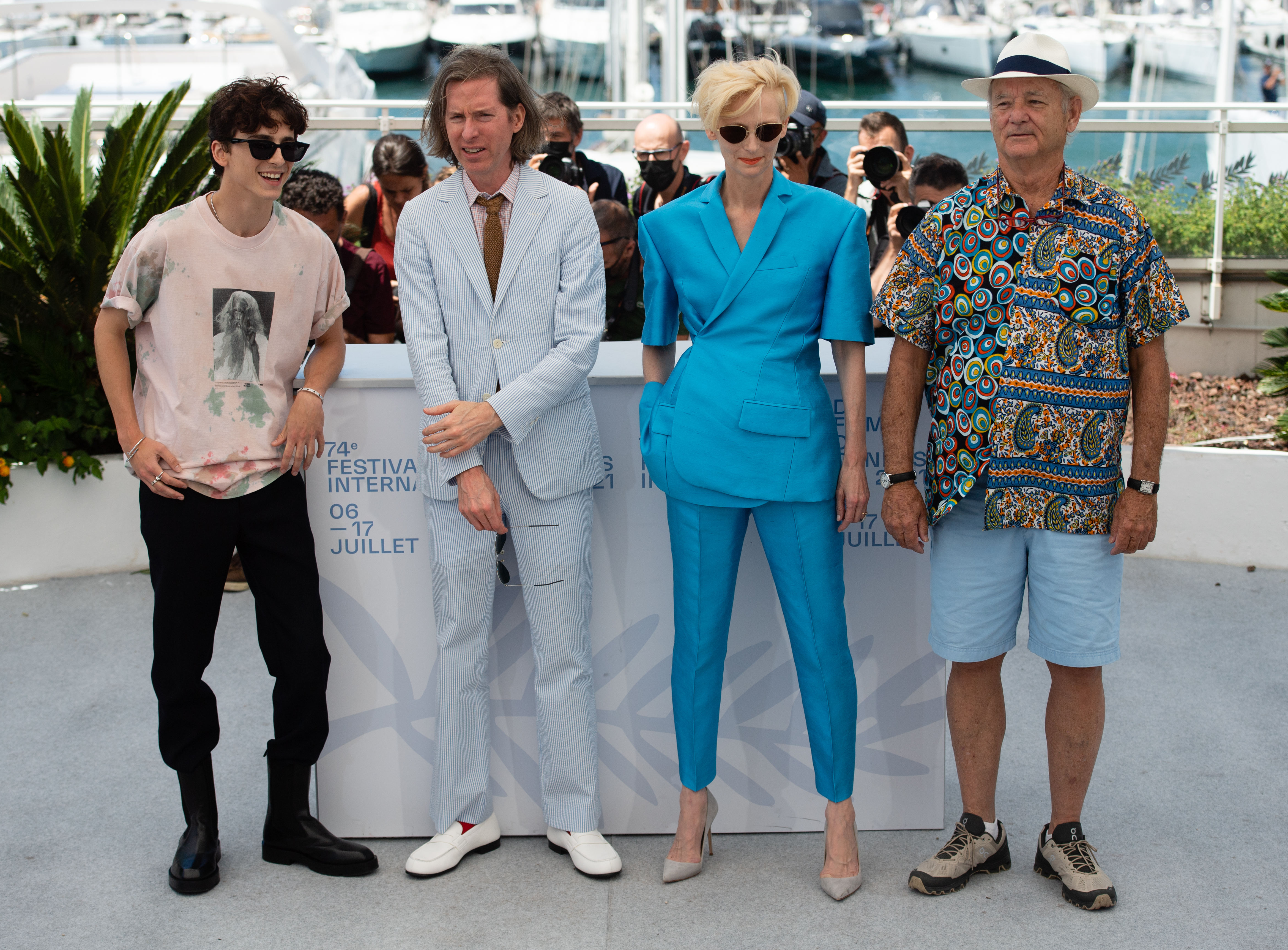 """""""The French Dispatch"""" Photocall - The 74th Annual Cannes Film Festival"""