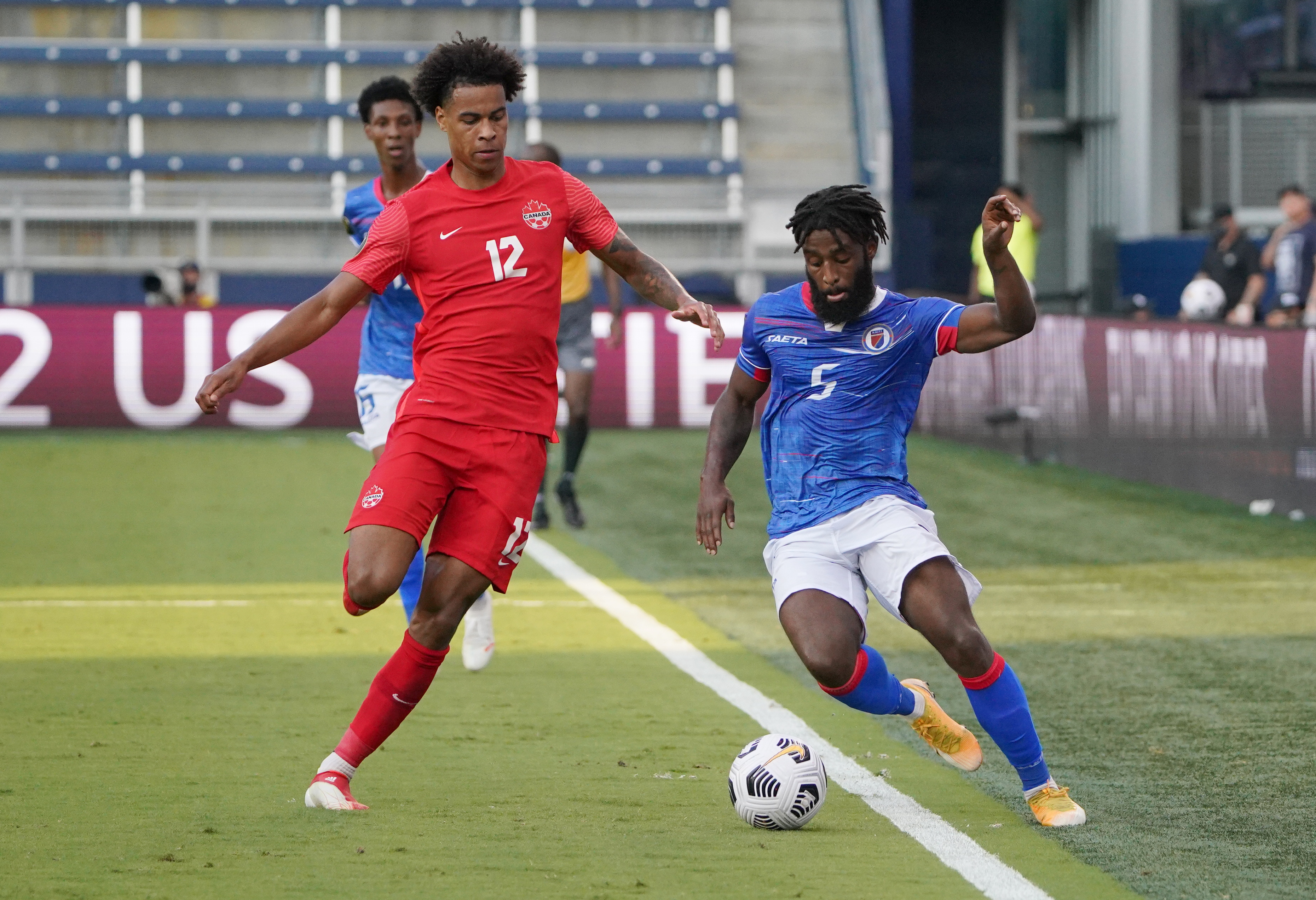 Soccer: CONCACAF Gold Cup Soccer-Haiti at Canada
