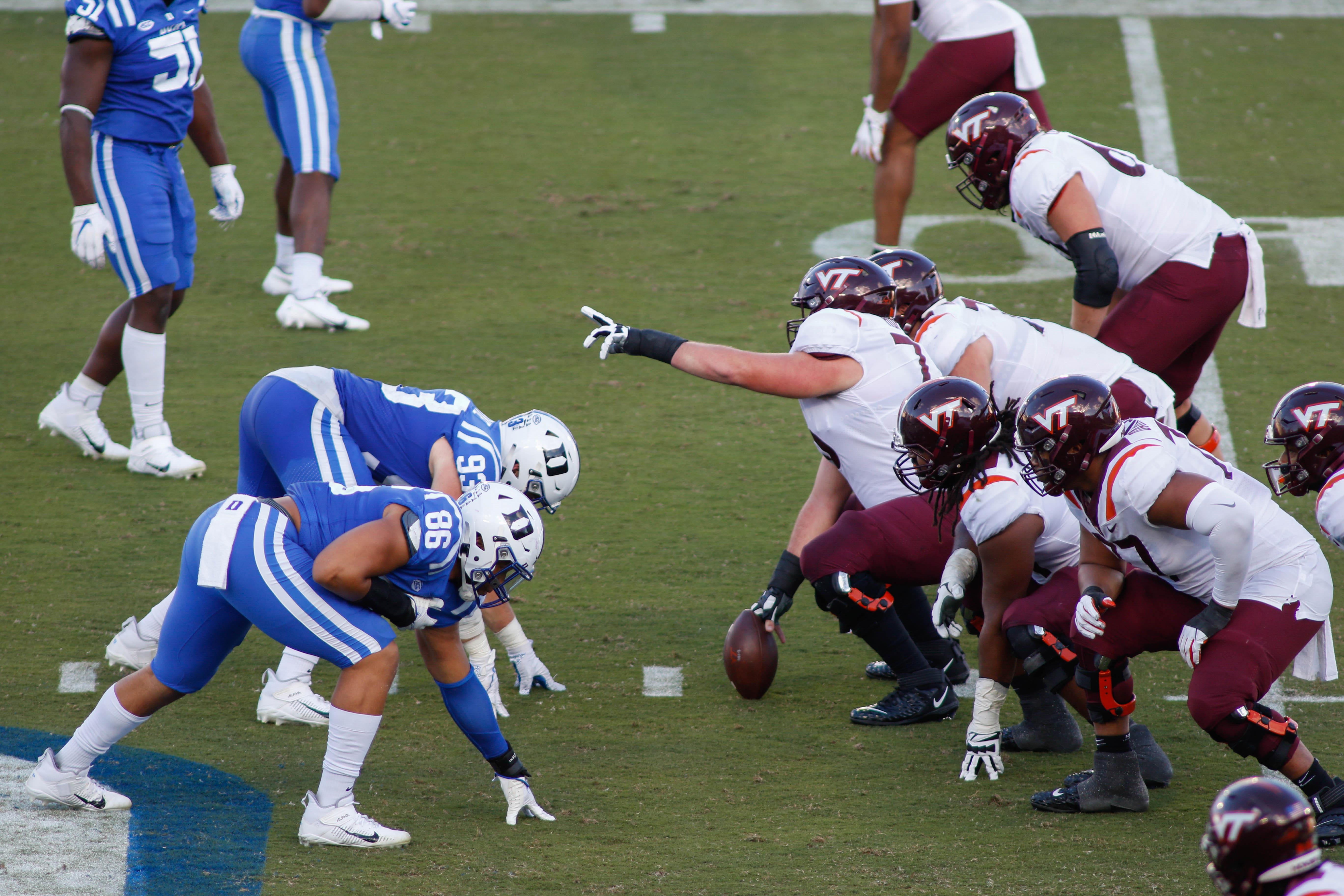 NCAA Football: Virginia Tech at Duke