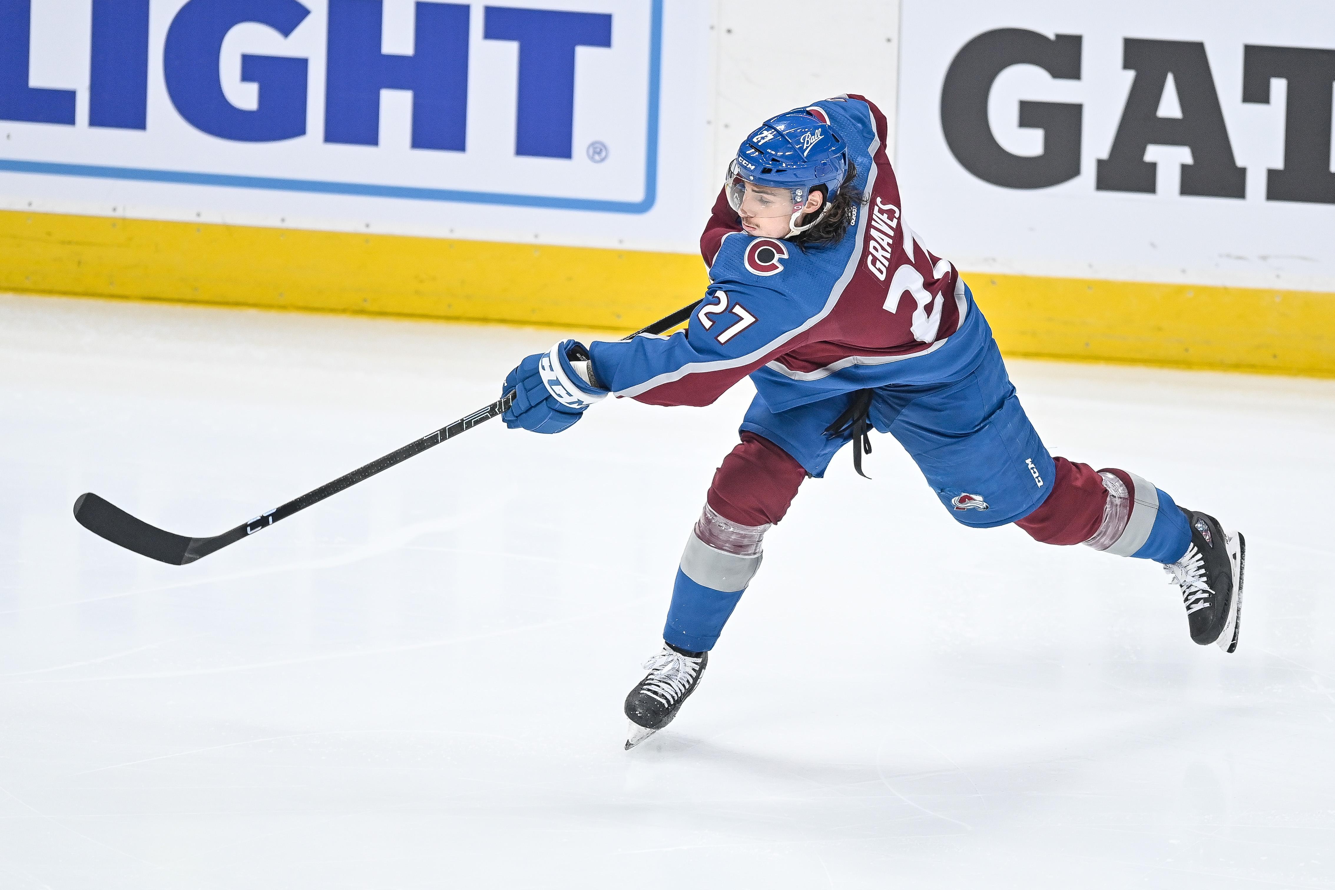 NHL: JUN 08 Stanley Cup Playoffs Second Round - Golden Knights at Avalanche