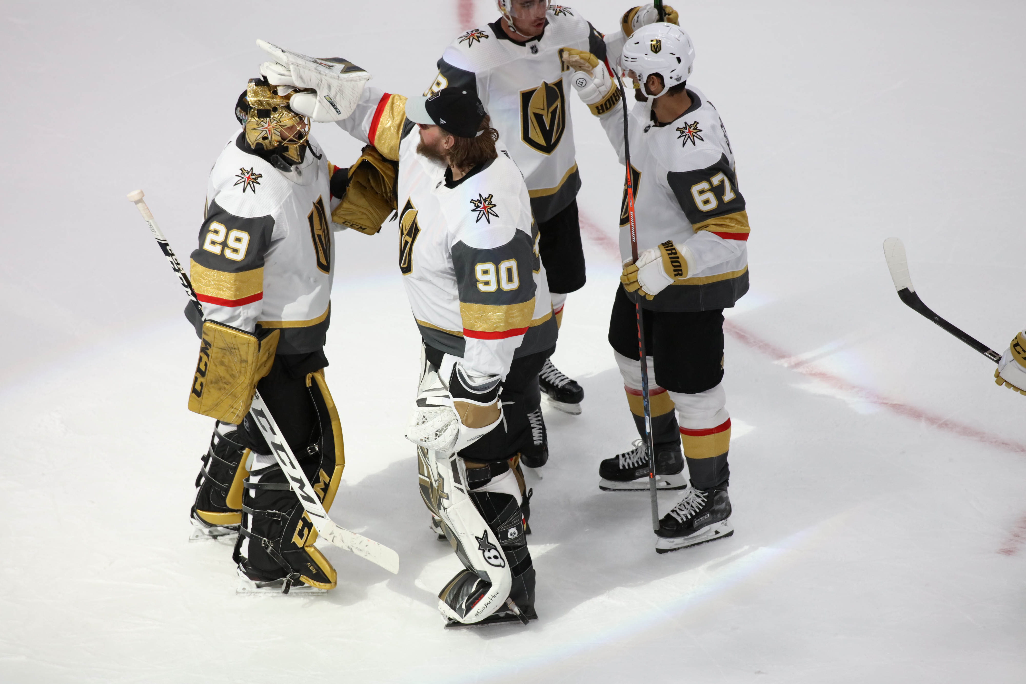 NHL: Stanley Cup Playoffs-Vegas Golden Knights at Vancouver Canucks