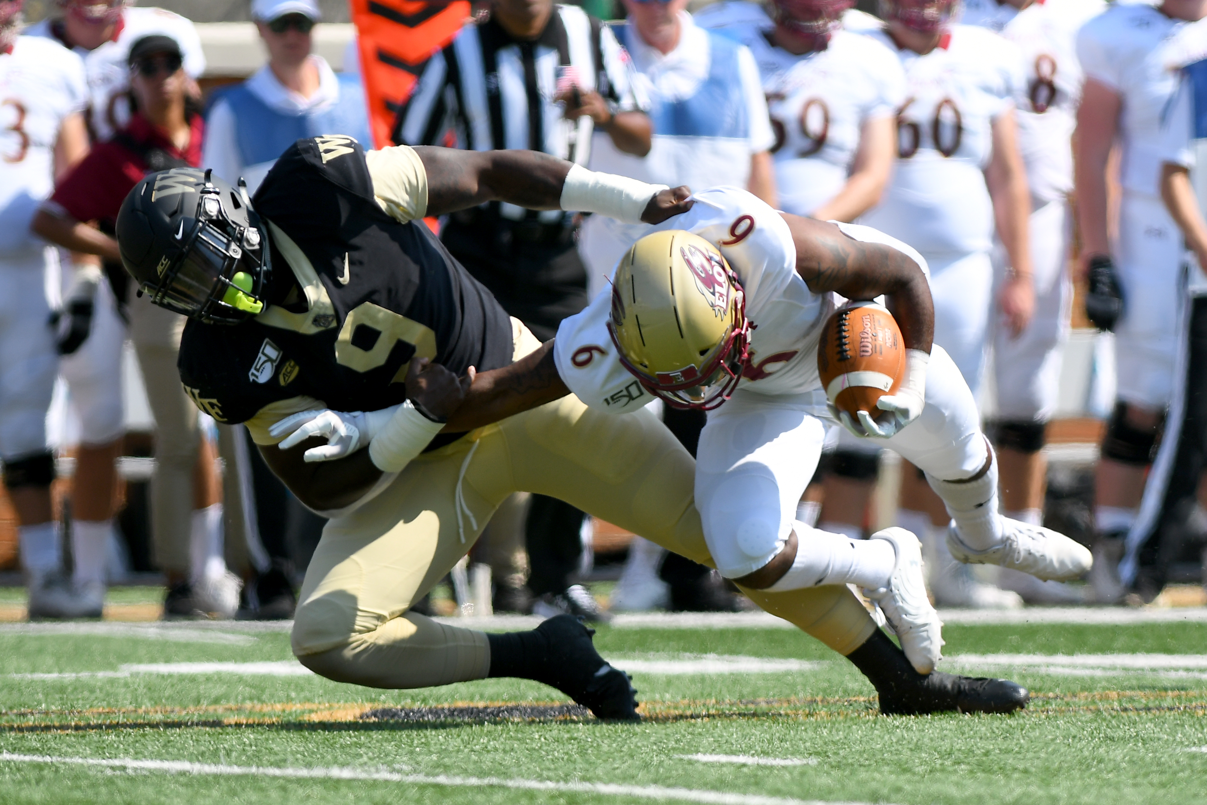 COLLEGE FOOTBALL: SEP 21 Elon at Wake Forest