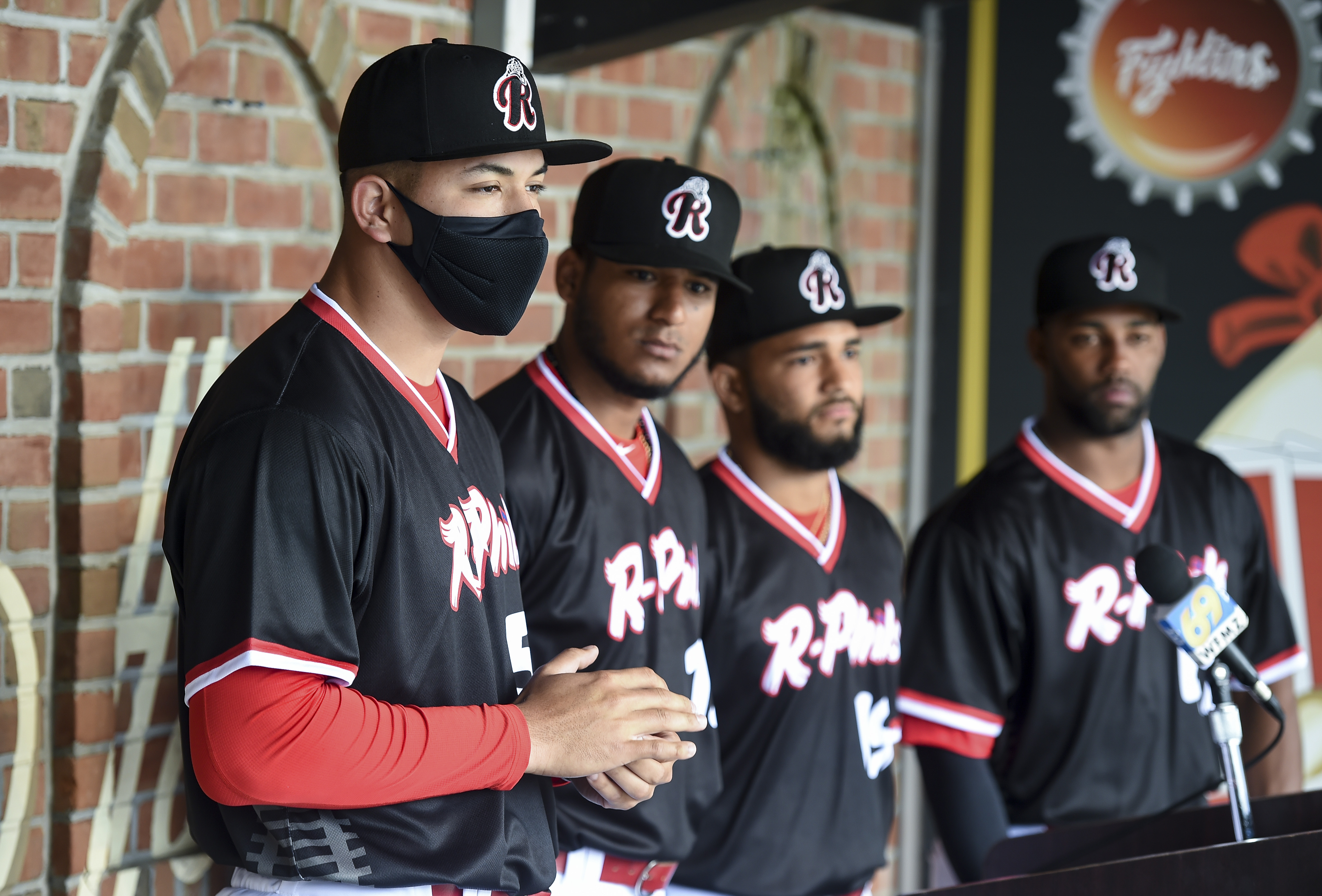 Reading Fightin Phils Double-A Affiliate Baseball Team Media Day