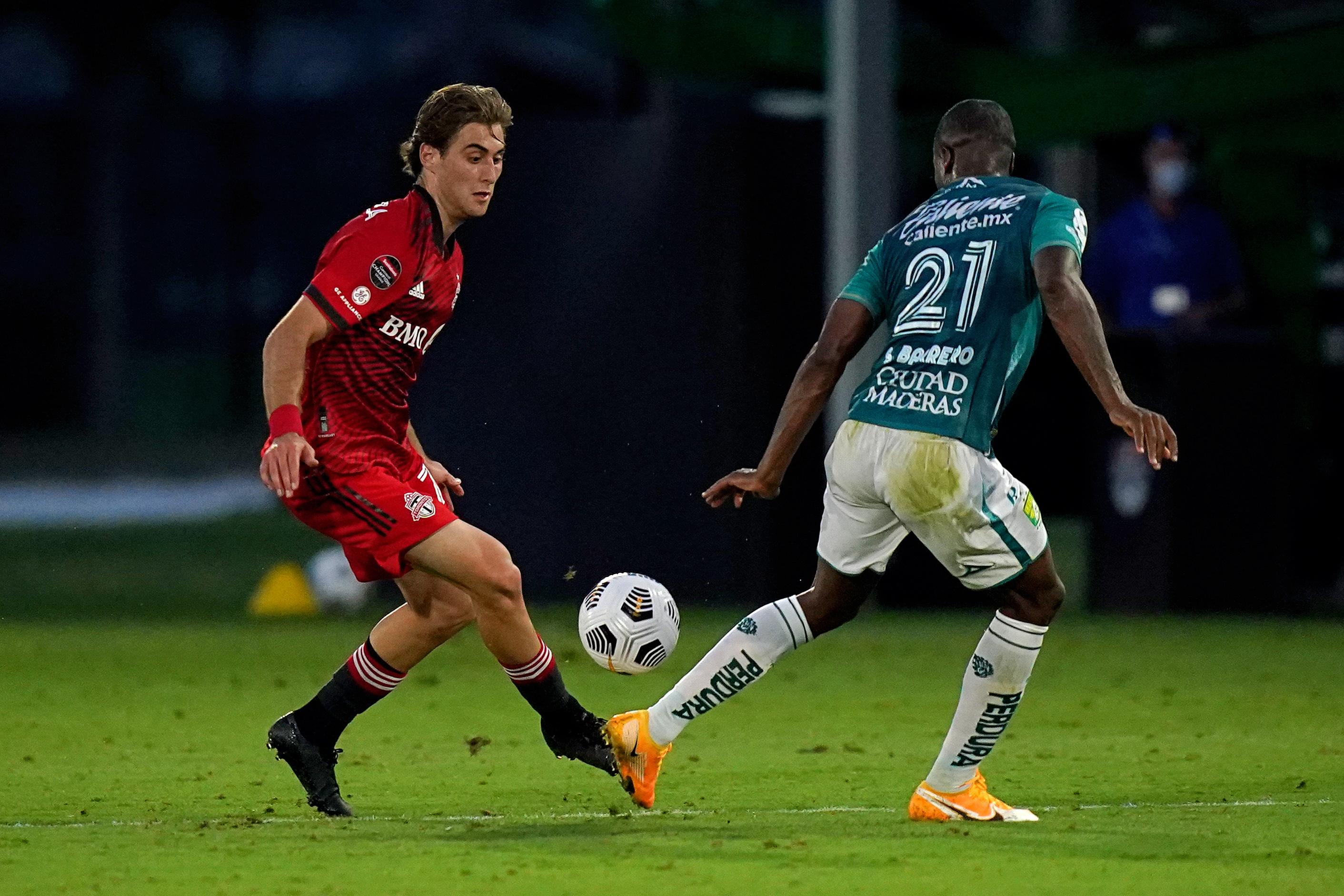 MLS: Concacaf Champions League-Leon at Toronto FC