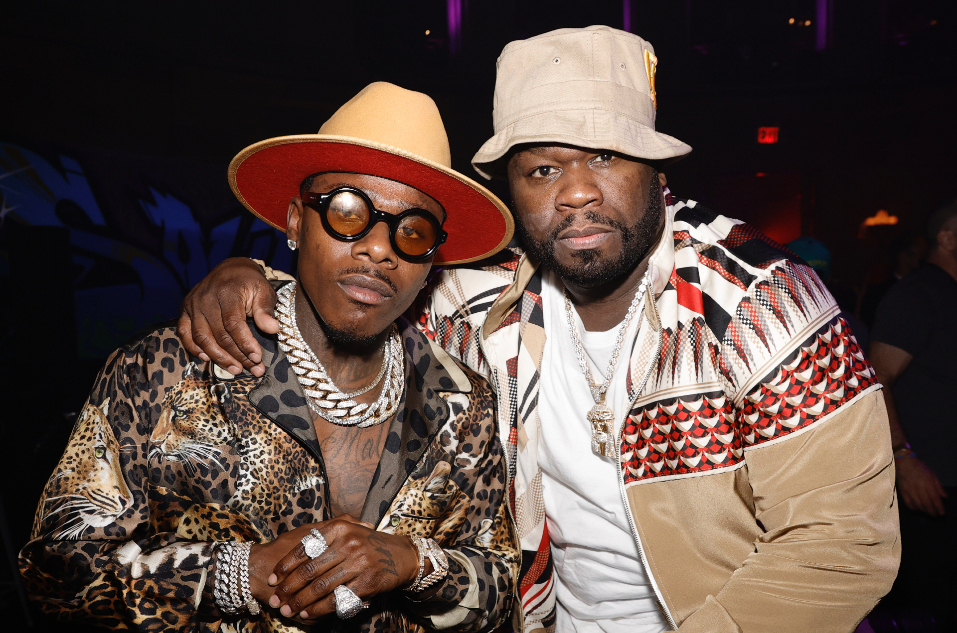 DaBaby and 50 Cent