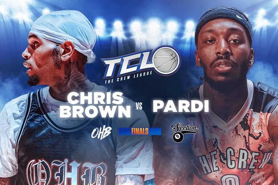 Chris Brown and Pardison Fontaine