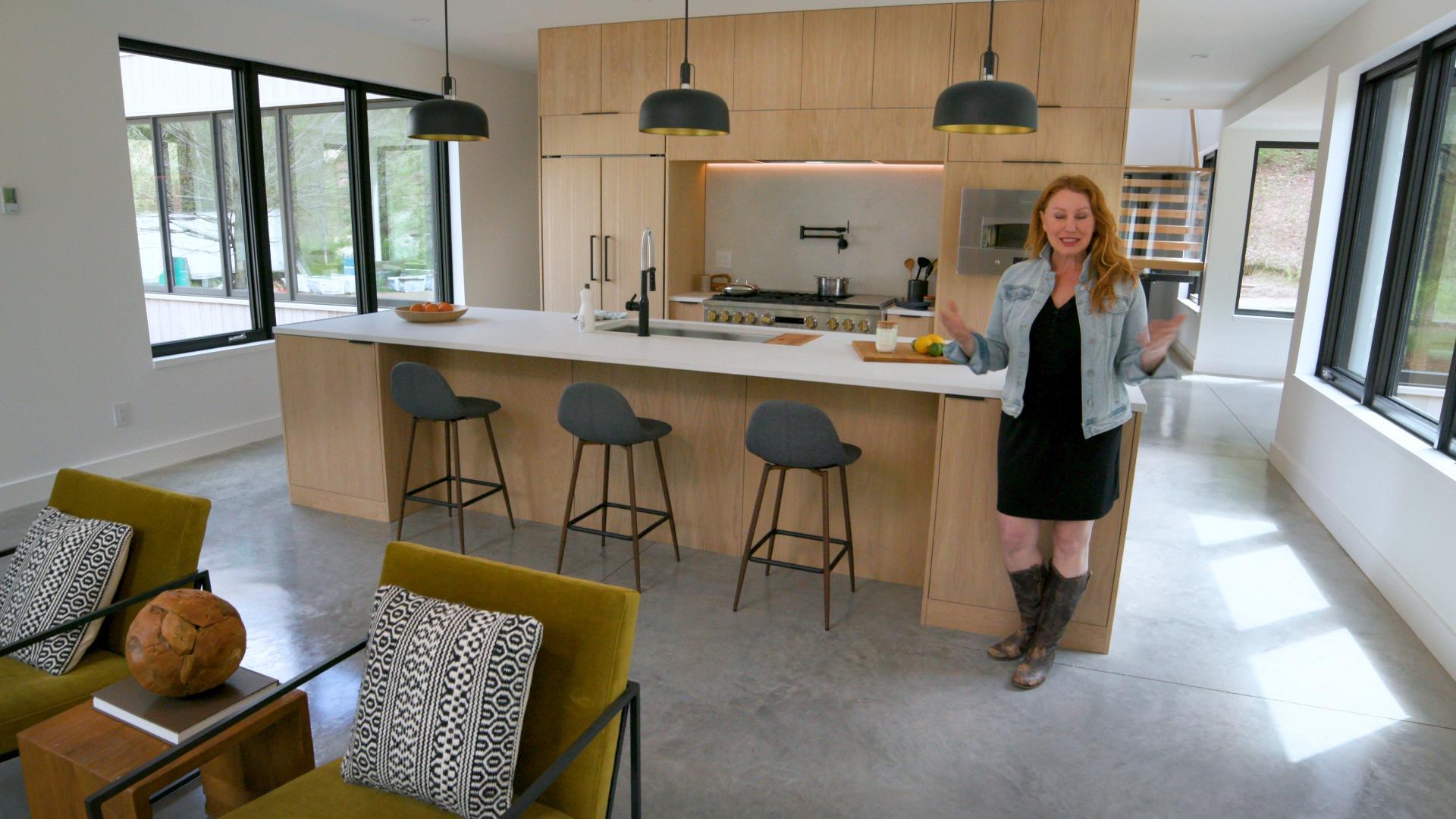 Fall 2021, Idea House, Modern Barnhouse, St. Paul, MN, kitchen