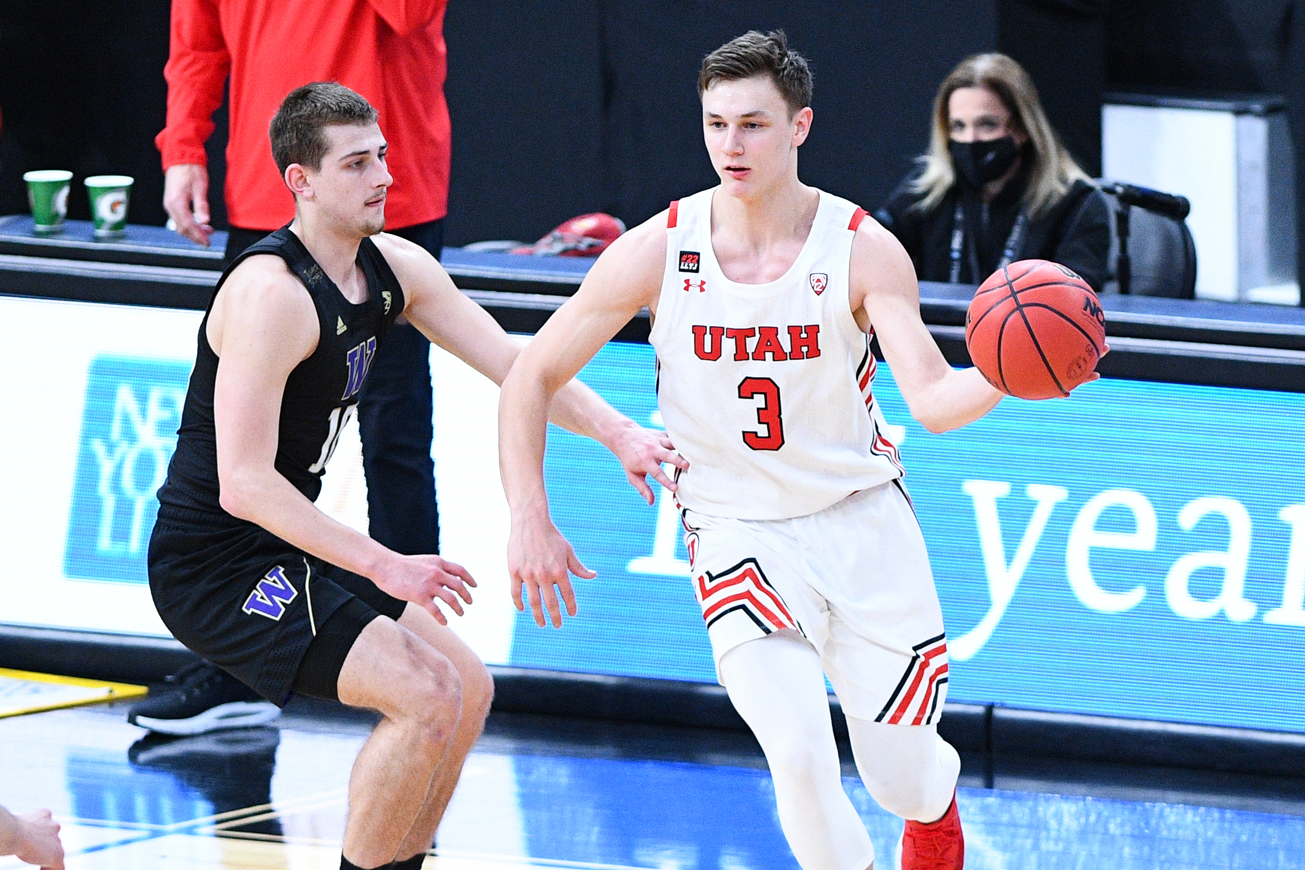 COLLEGE BASKETBALL: MAR 10 Pac-12 Tournament - Utah v Washington
