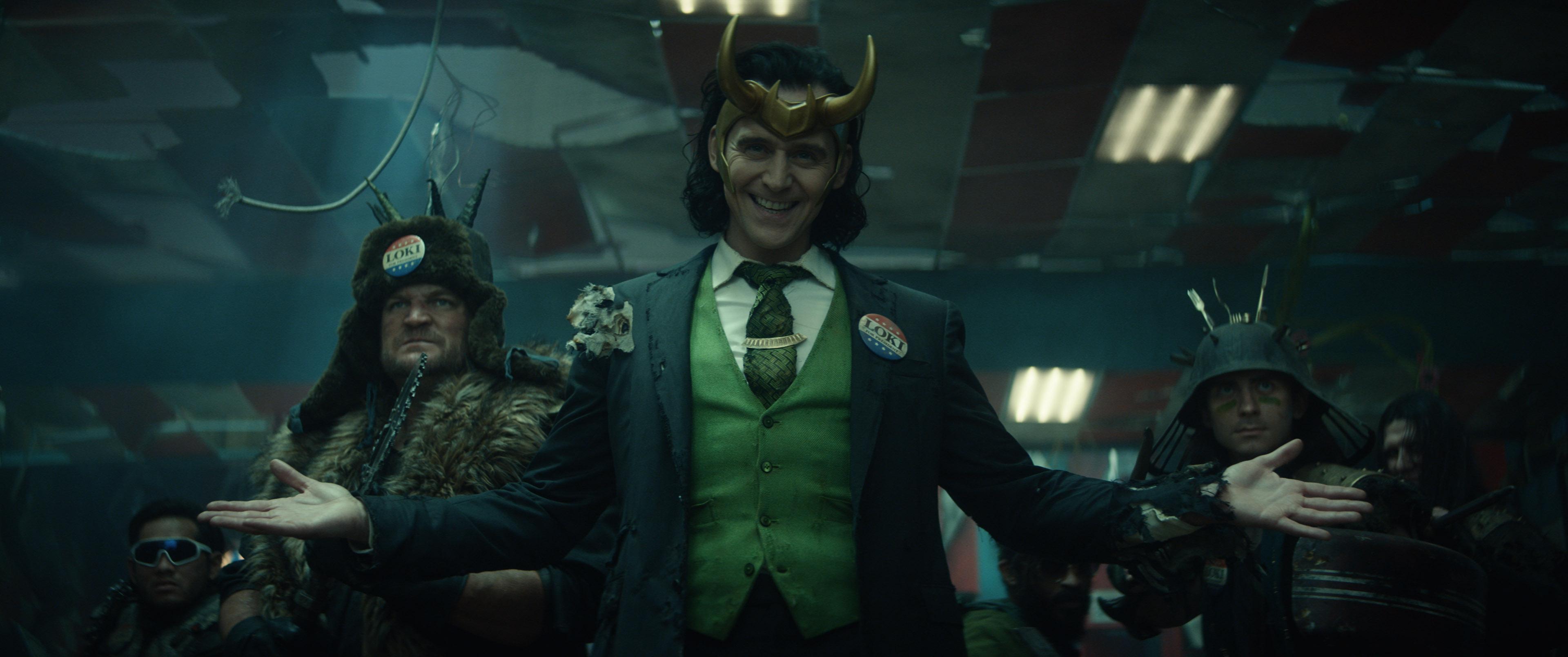 President Loki and his backup Lokis loki it up on Loki