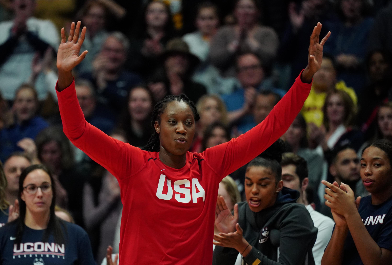 NCAA Womens Basketball: Team USA vs Connecticut