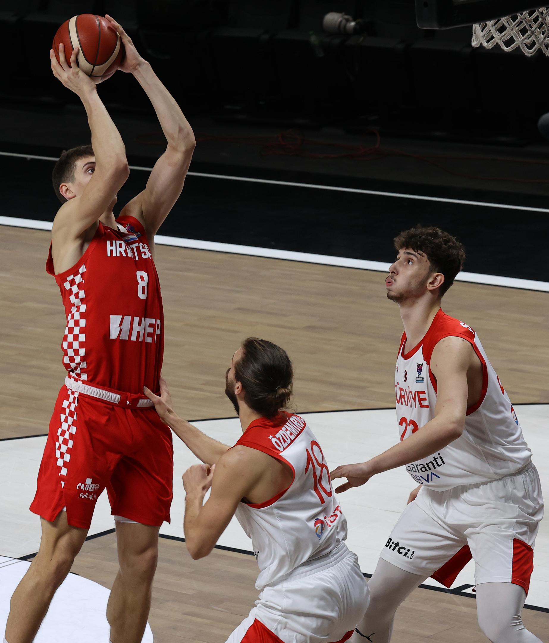 Turkey v Croatia - FIBA EuroBasket 2022 Qualifications