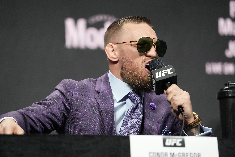 MMA: JUL 08 UFC 264 Press Conference
