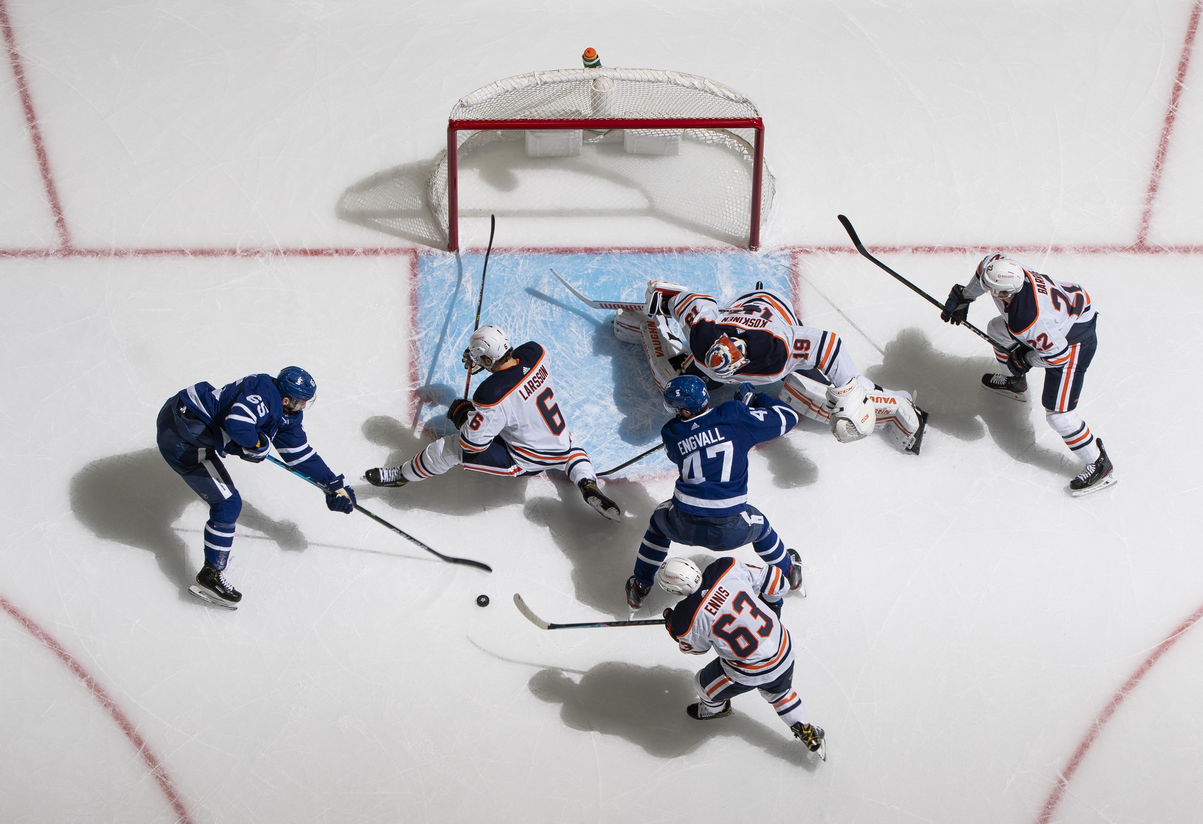 Edmonton Oilers v Toronto Maple Leafs