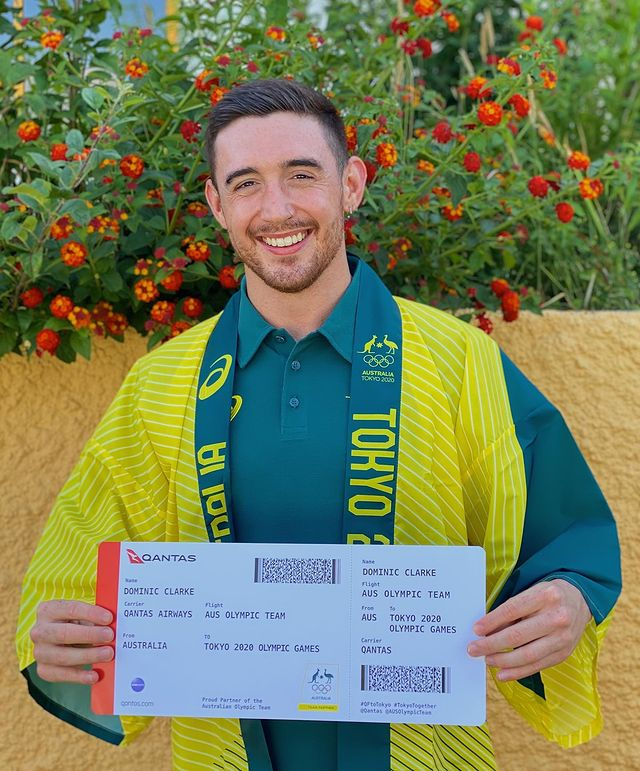 Dominic Clarke is a trampoline gymnast for Australia.