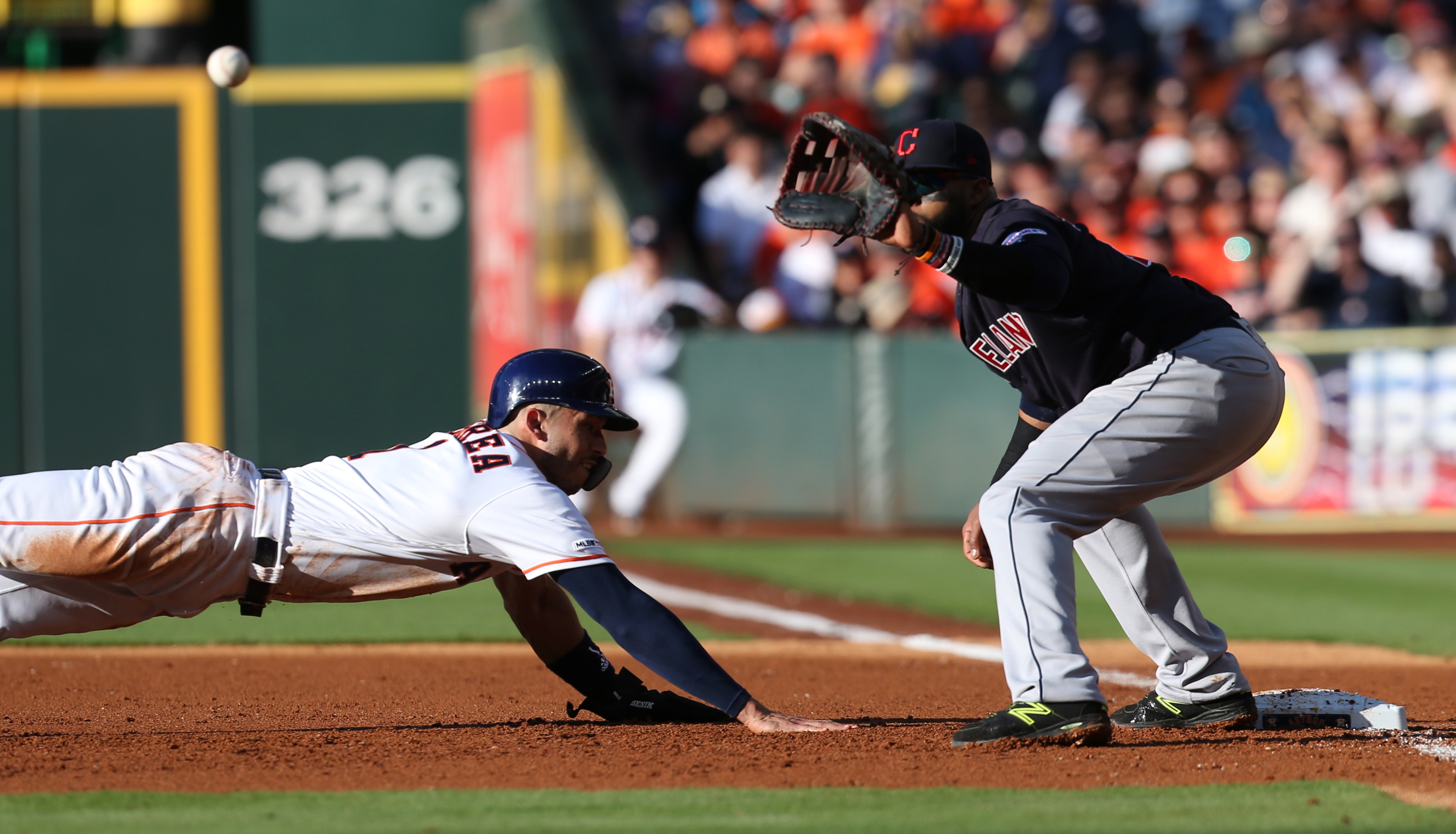 MLB: Cleveland Indians at Houston Astros