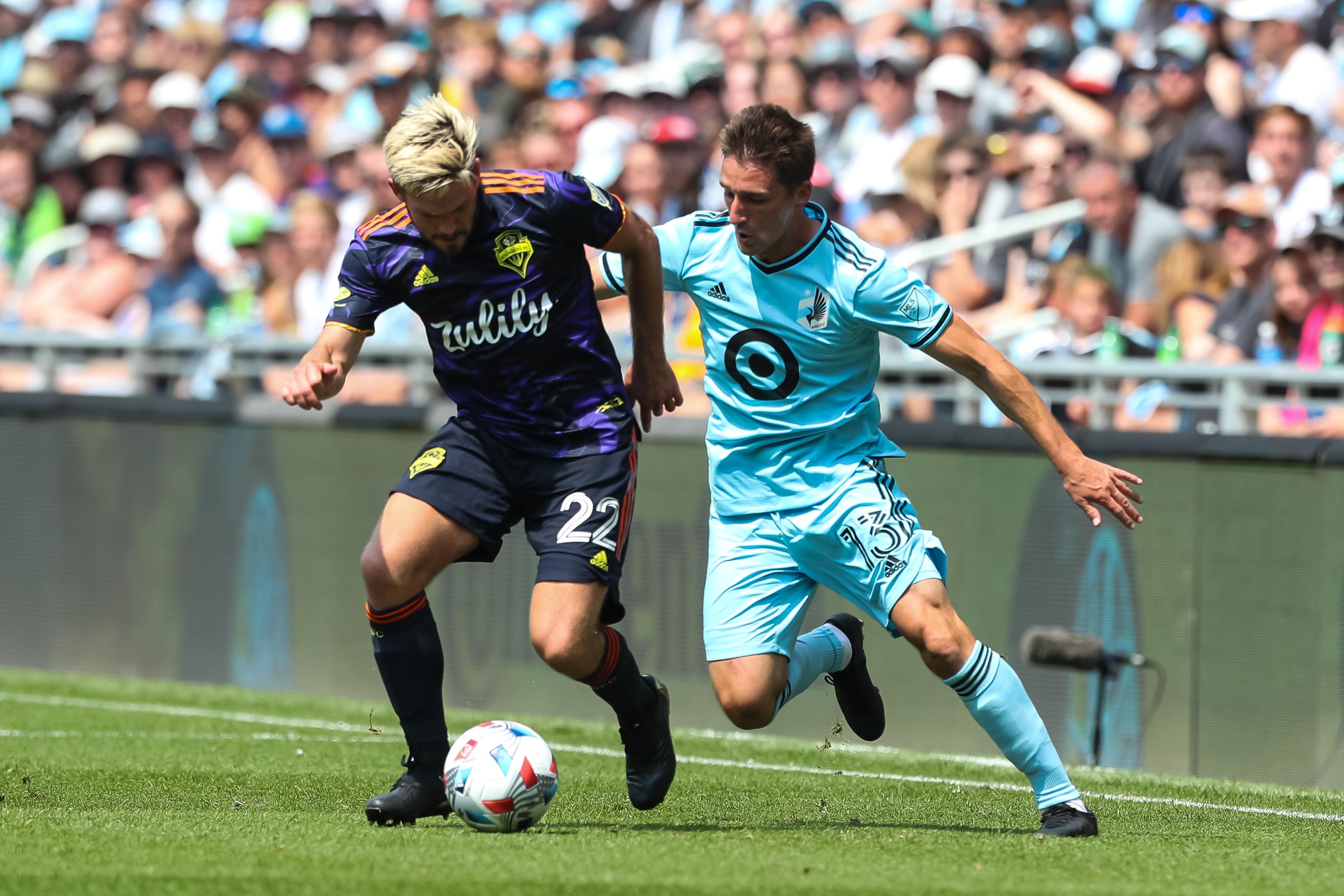 MLS:西雅图探测器FC在明尼苏达联合FC