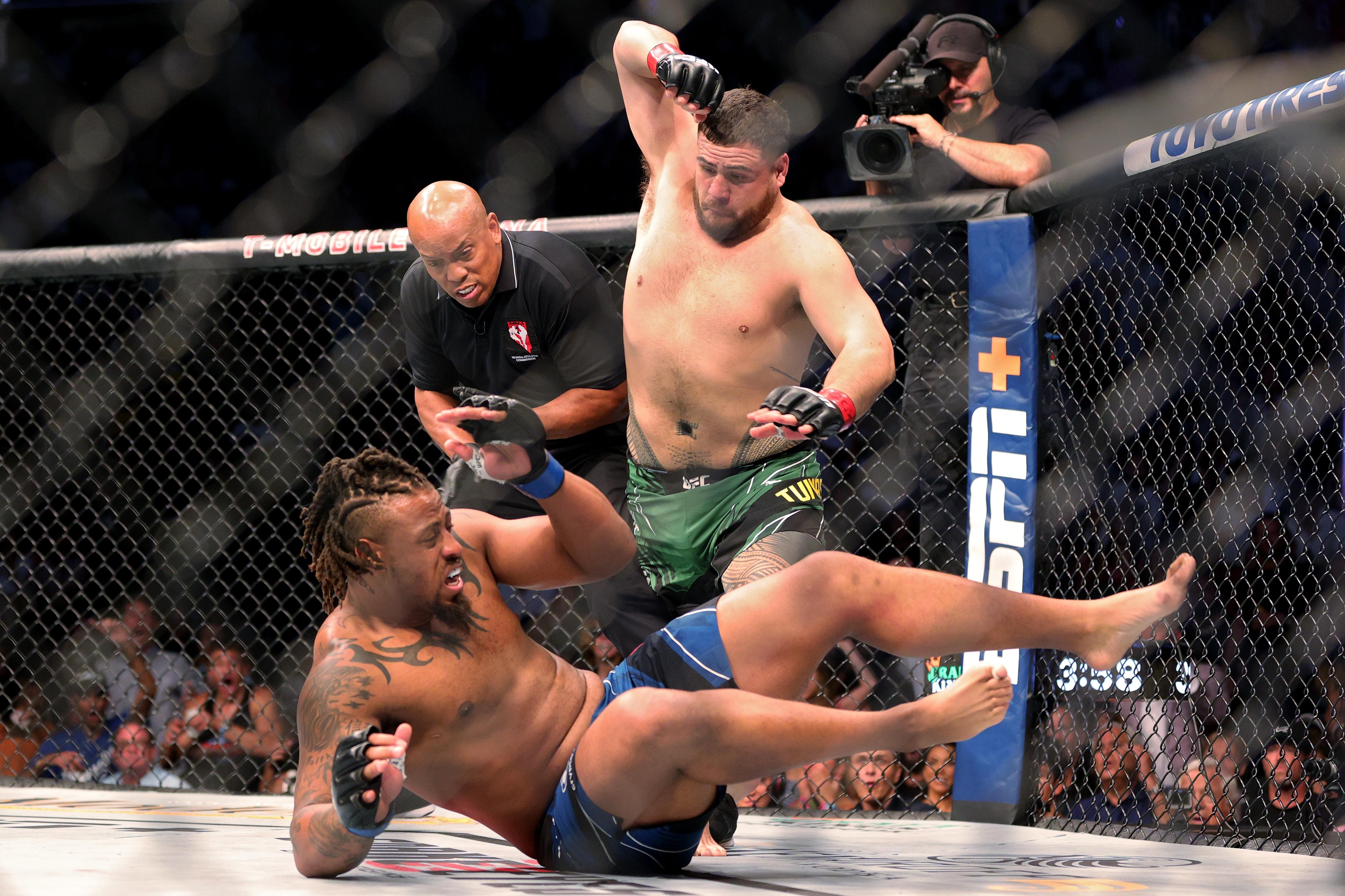UFC 264: Poirier v McGregor 3 Tai Tuivasa Greg hardy