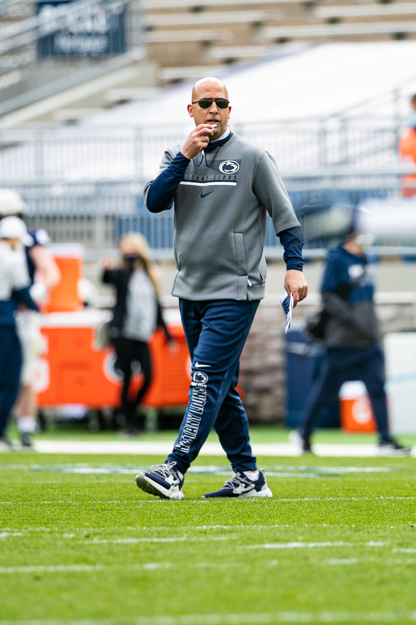 NCAA Football: Penn State Spring Practice
