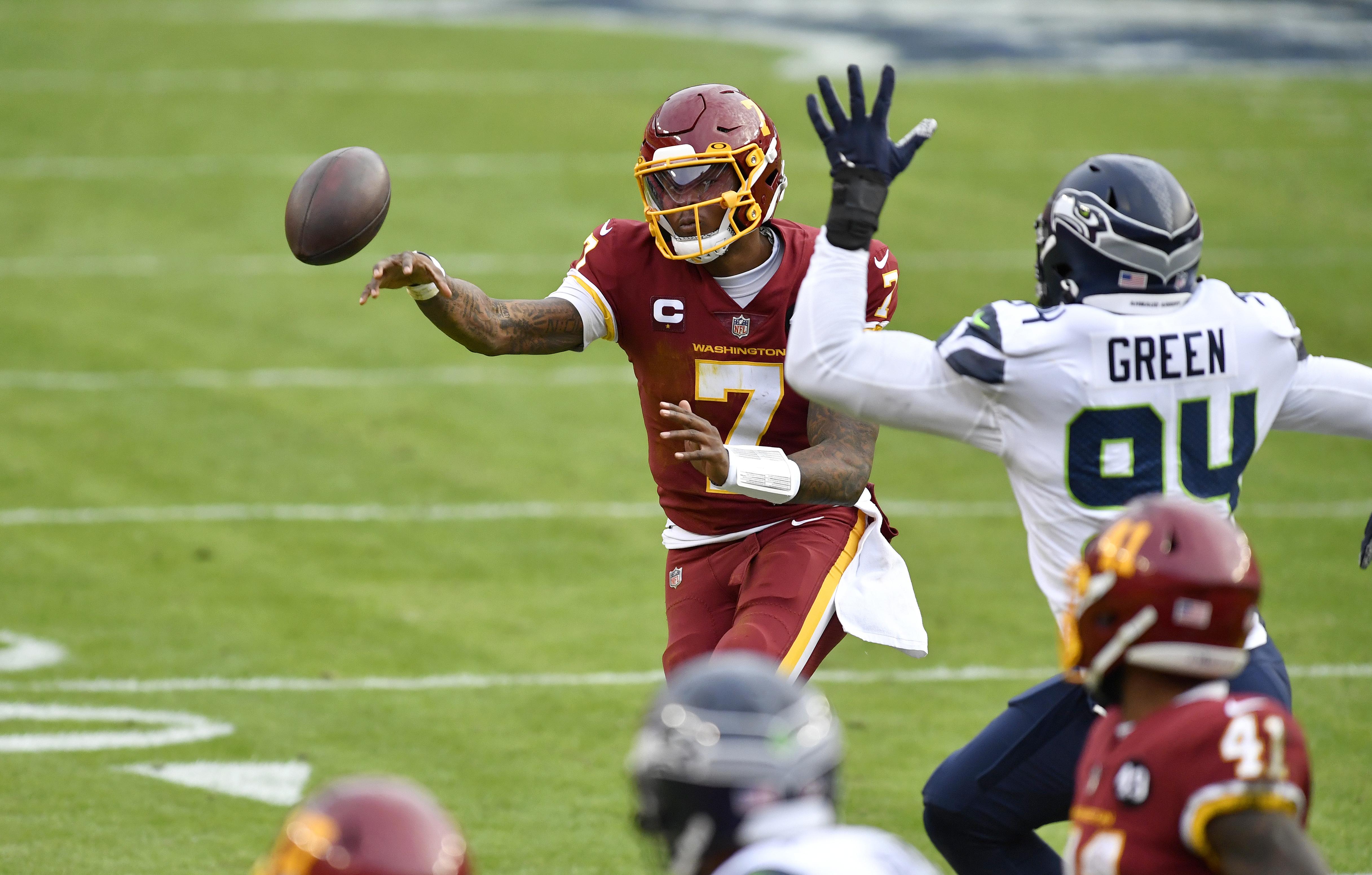 NFL: DEC 20 Seahawks at Washington Football Team
