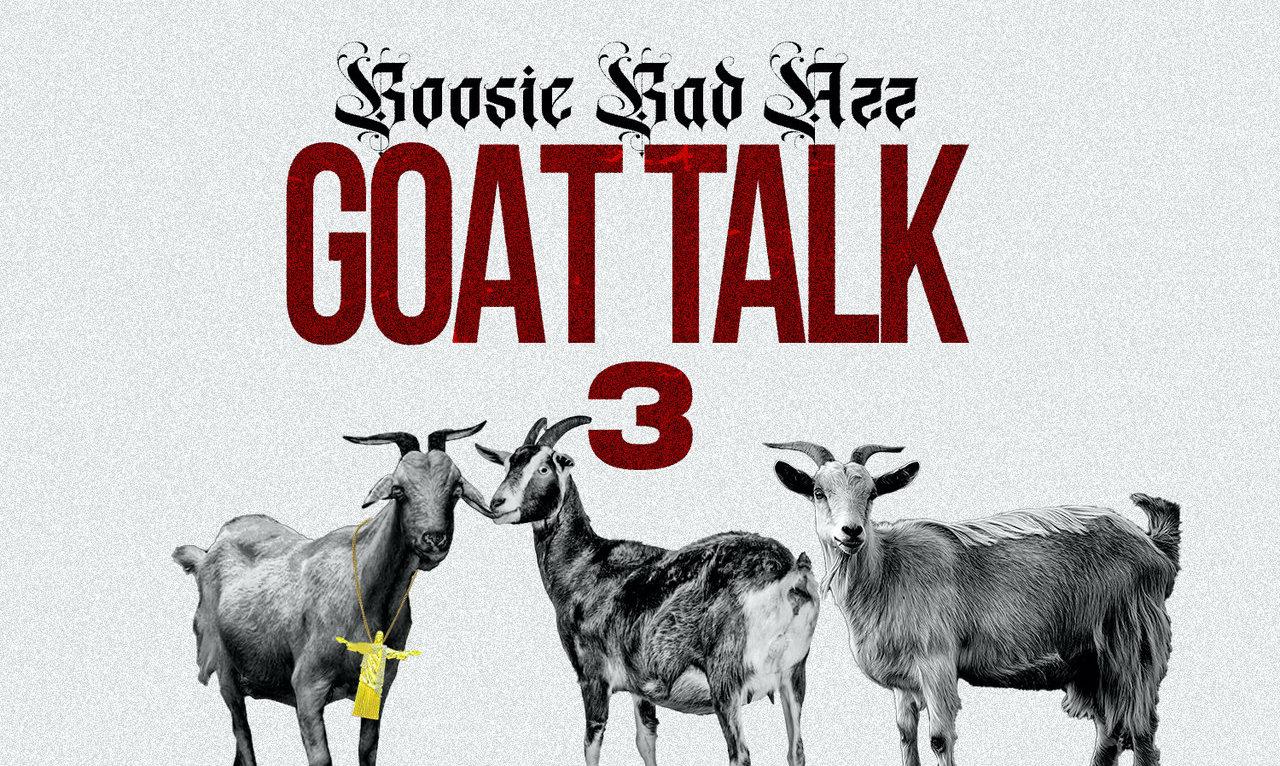 Boosie Badazz's 'Goat Talk 3' artwork