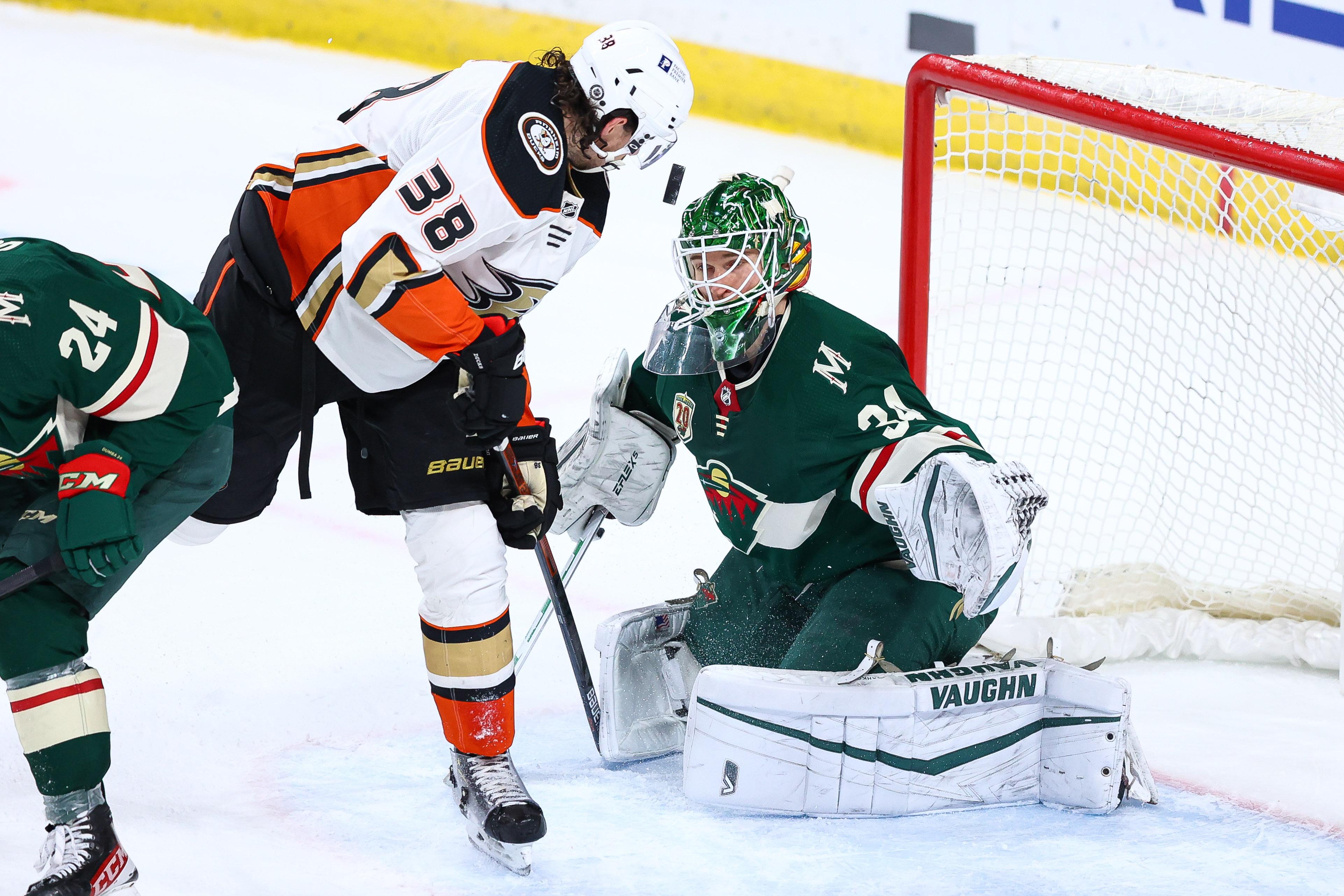 NHL: Anaheim Ducks at Minnesota Wild