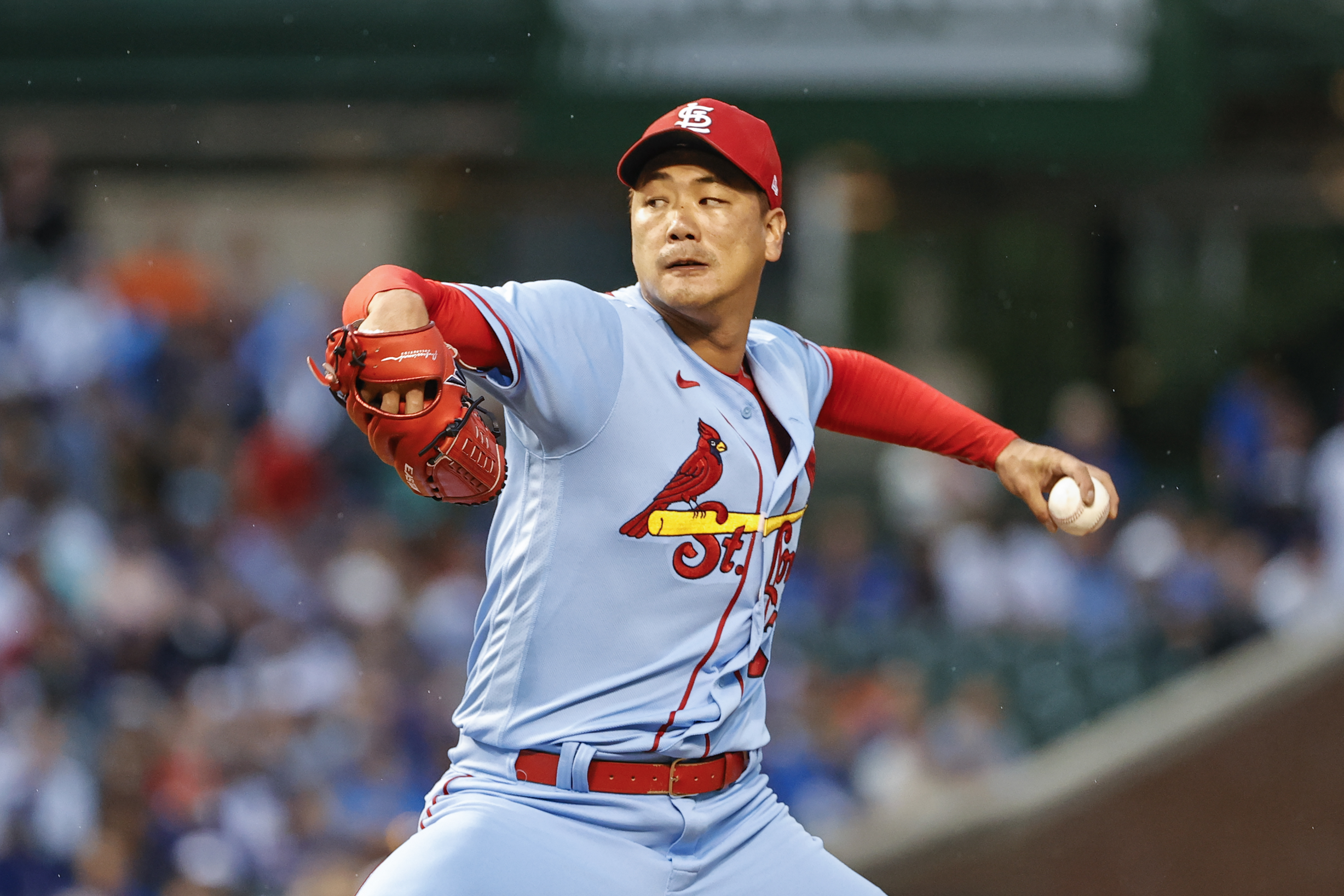 MLB:在芝加哥幼崽的圣路易斯红雀队