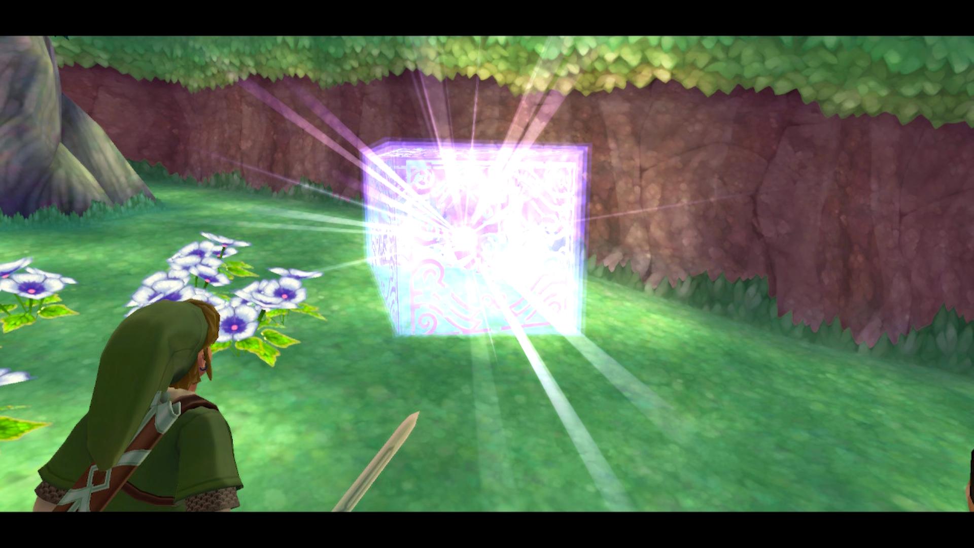 A Goddess Cube from The Legend of Zelda: Skyward Sword