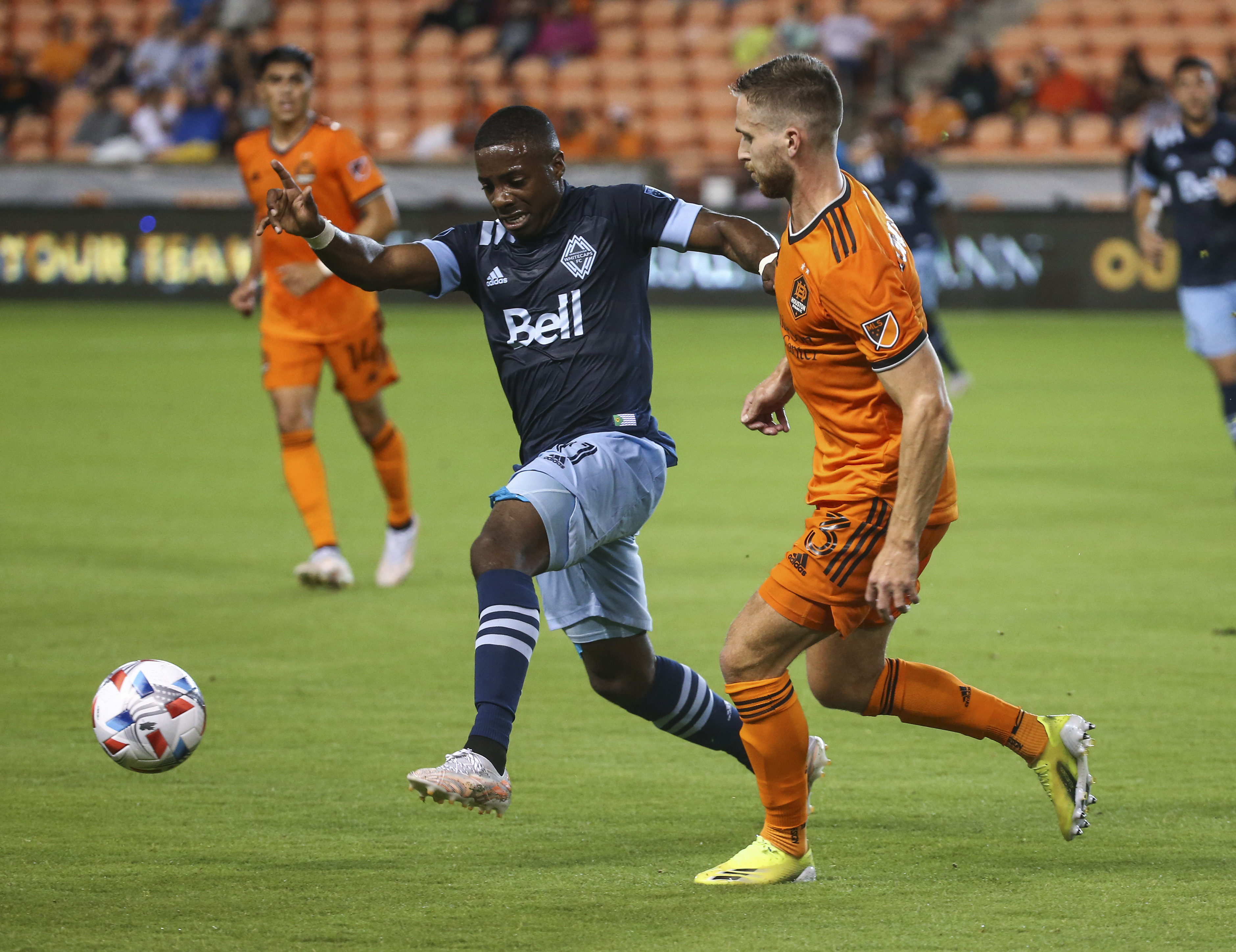 MLS: Vancouver Whitecaps FC at Houston Dynamo FC