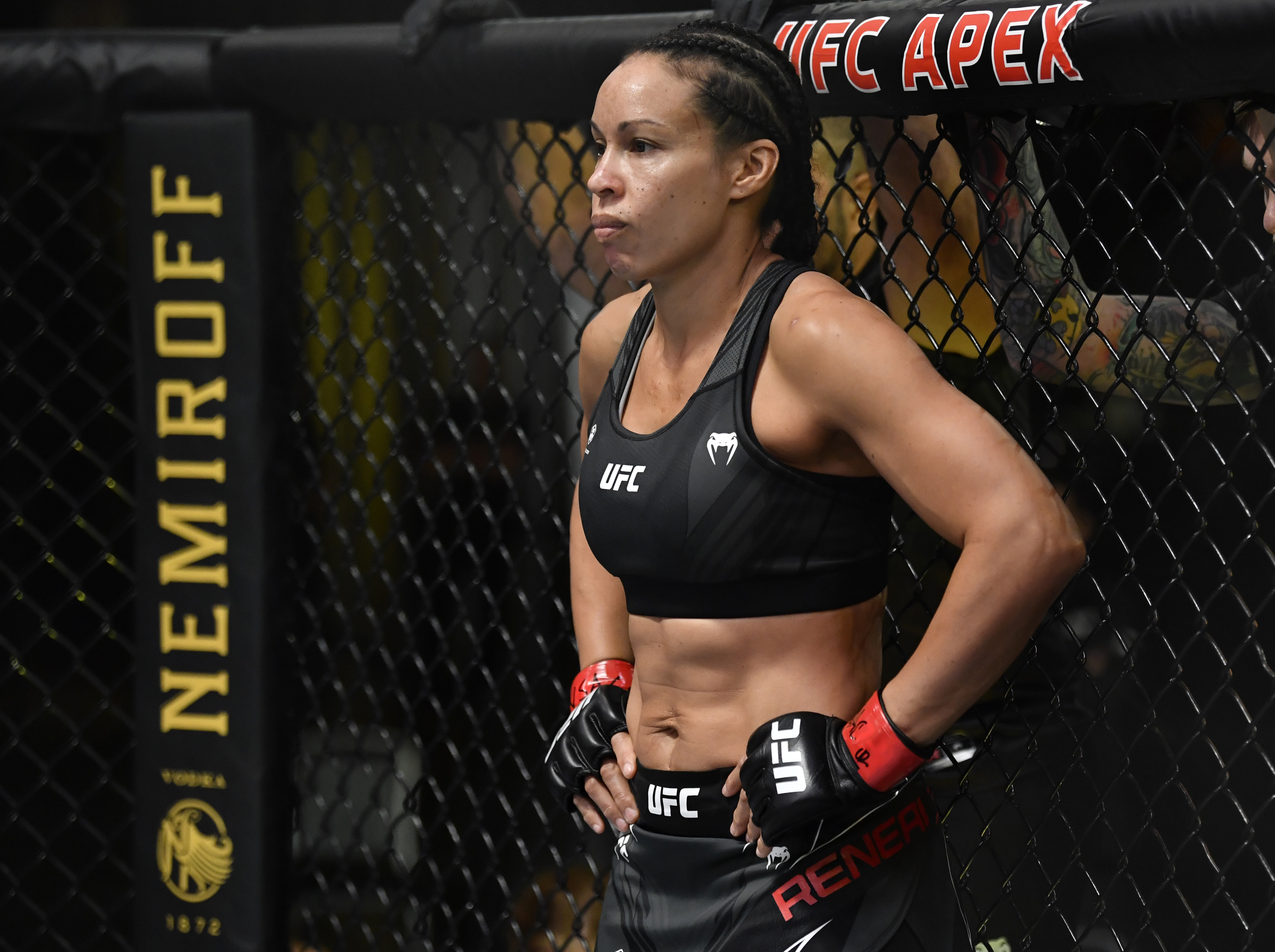 Marion Reneau before her fight against Miesha Tate at UFC Vegas 31.