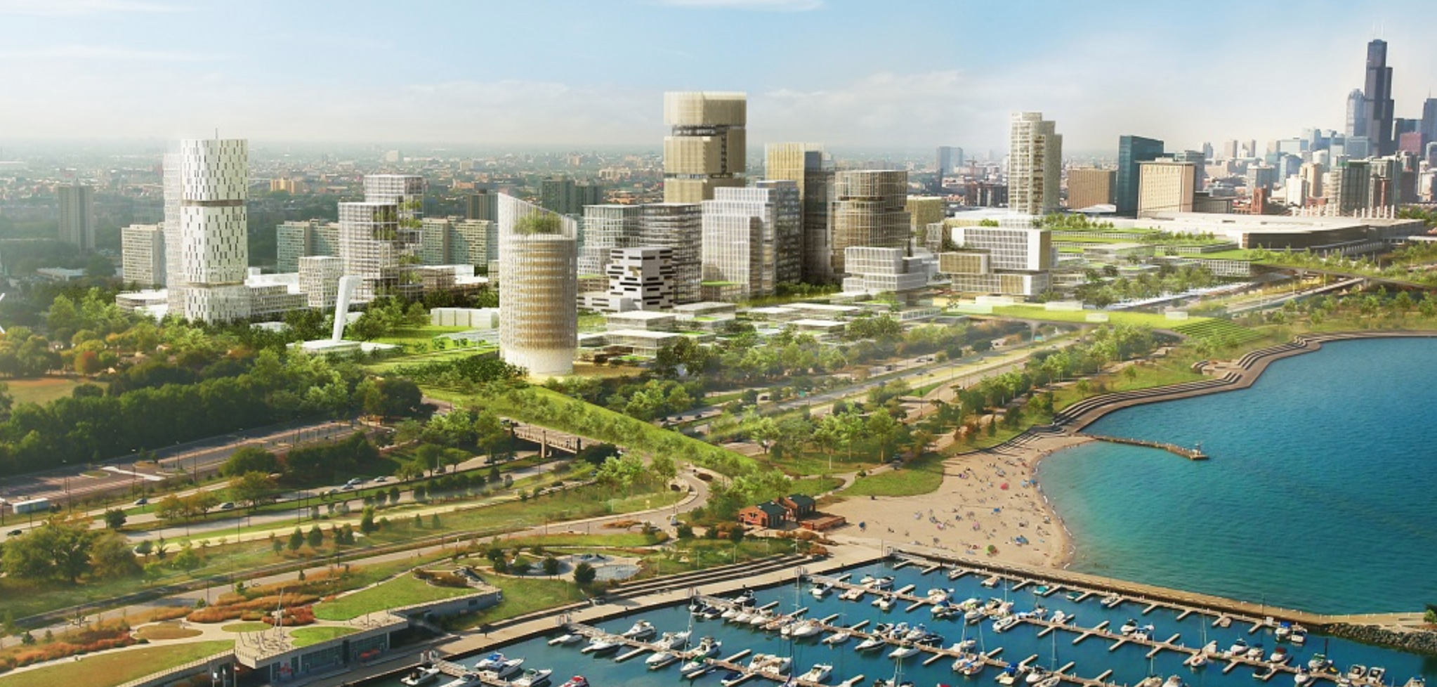 A plan years in the making for a $4 billion multi-use development at the site of the former Michael Reese Hospital campus on the South Side was approved by the Chicago City Council on Wednesday, July 21, 2021.