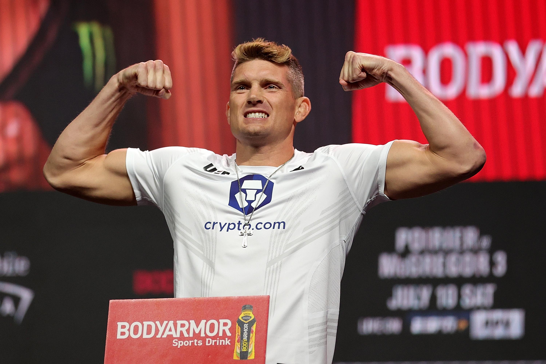 UFC 264 Weigh-in: Stephen Thompson Wonderboy