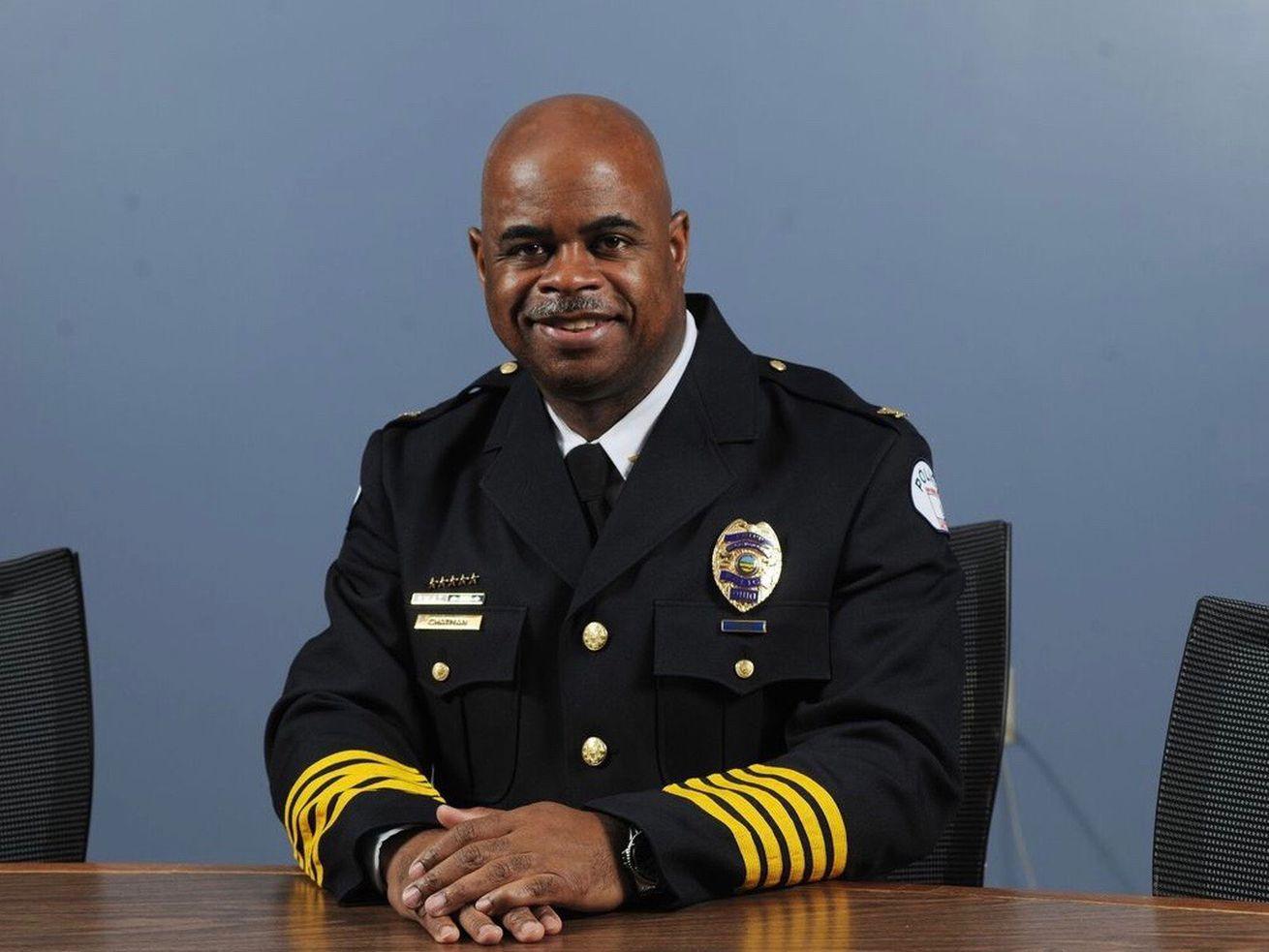University of Utah Police Chief Rodney Chatman.