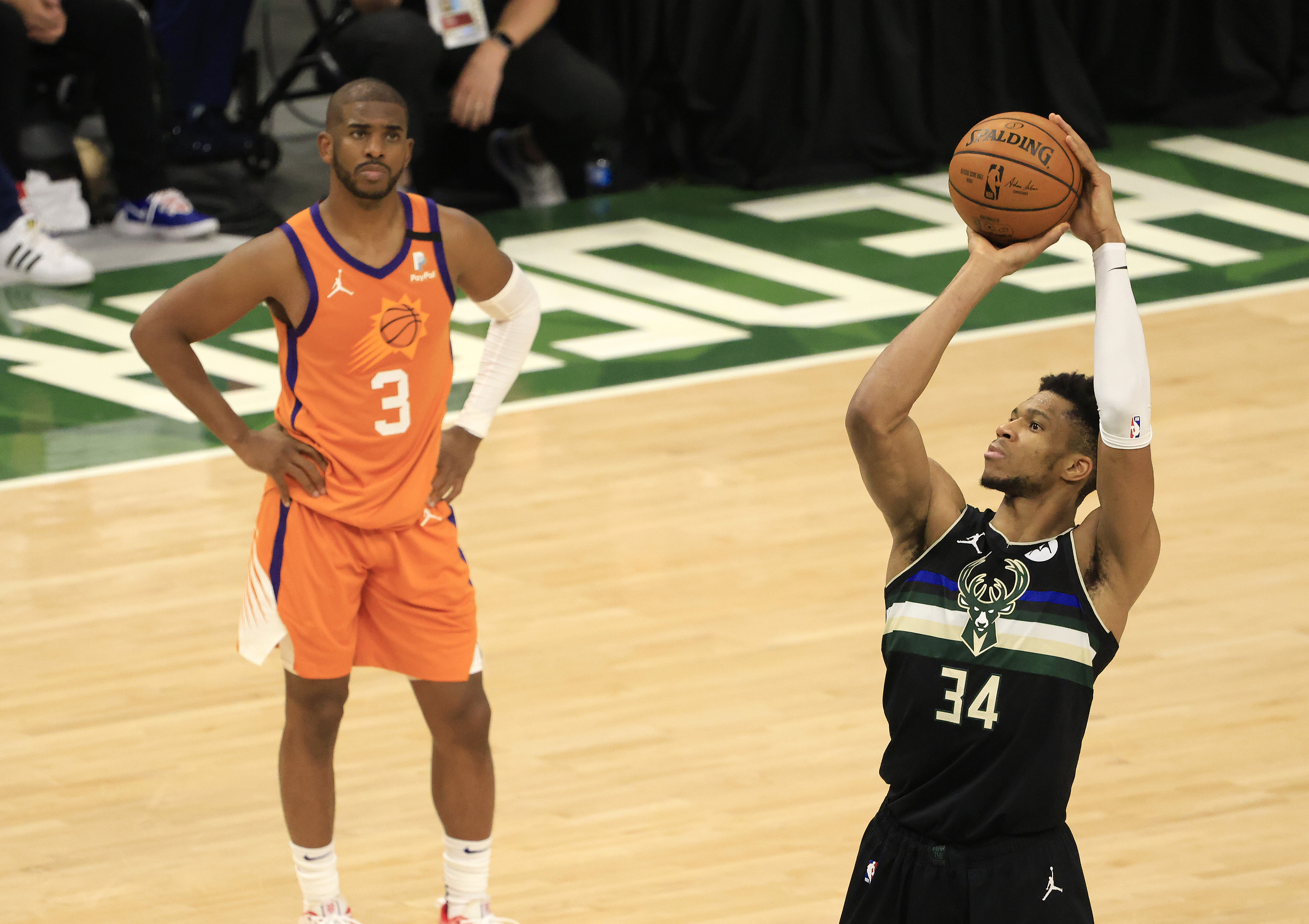 2021 NBA Finals - Game Six