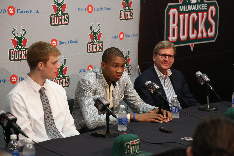 Bucks Draft Picks Presser