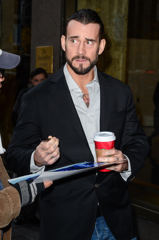 Celebrity Sightings In New York City - December 18, 2014
