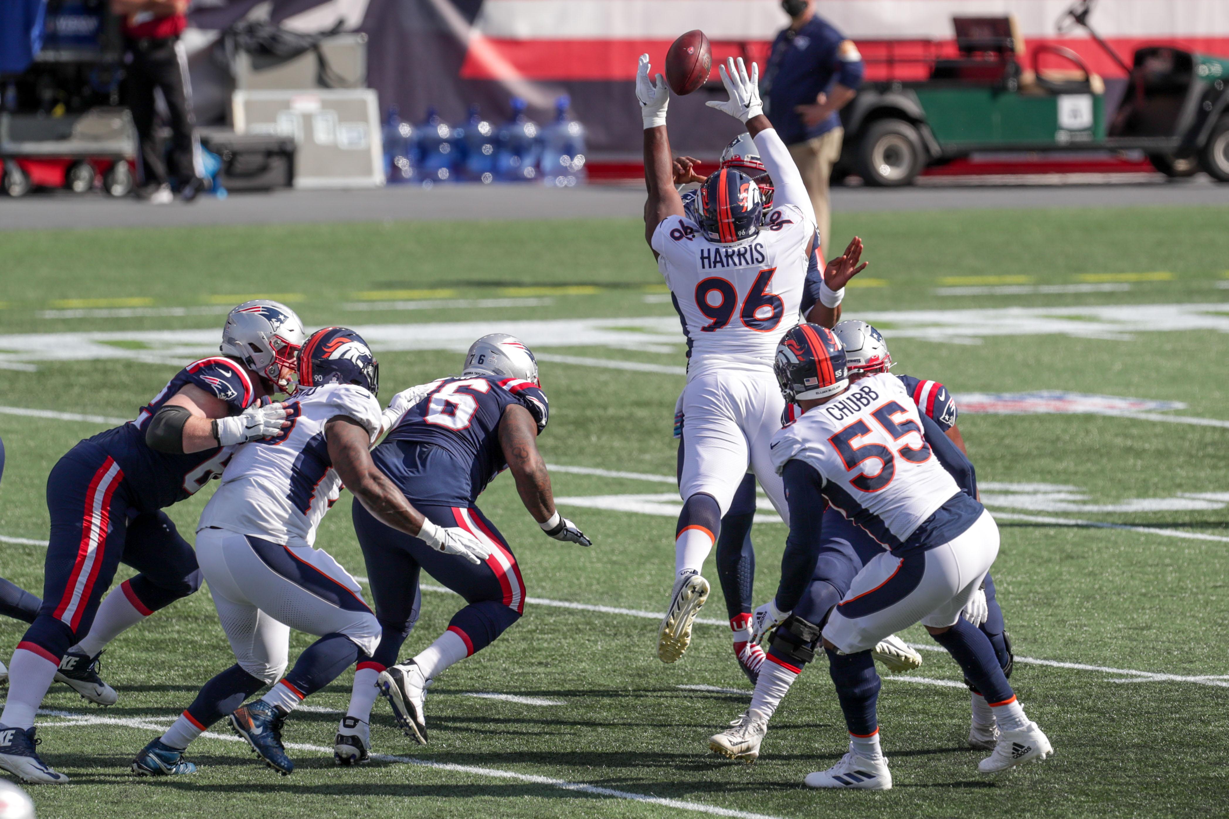 NFL: Denver Broncos at New England Patriots