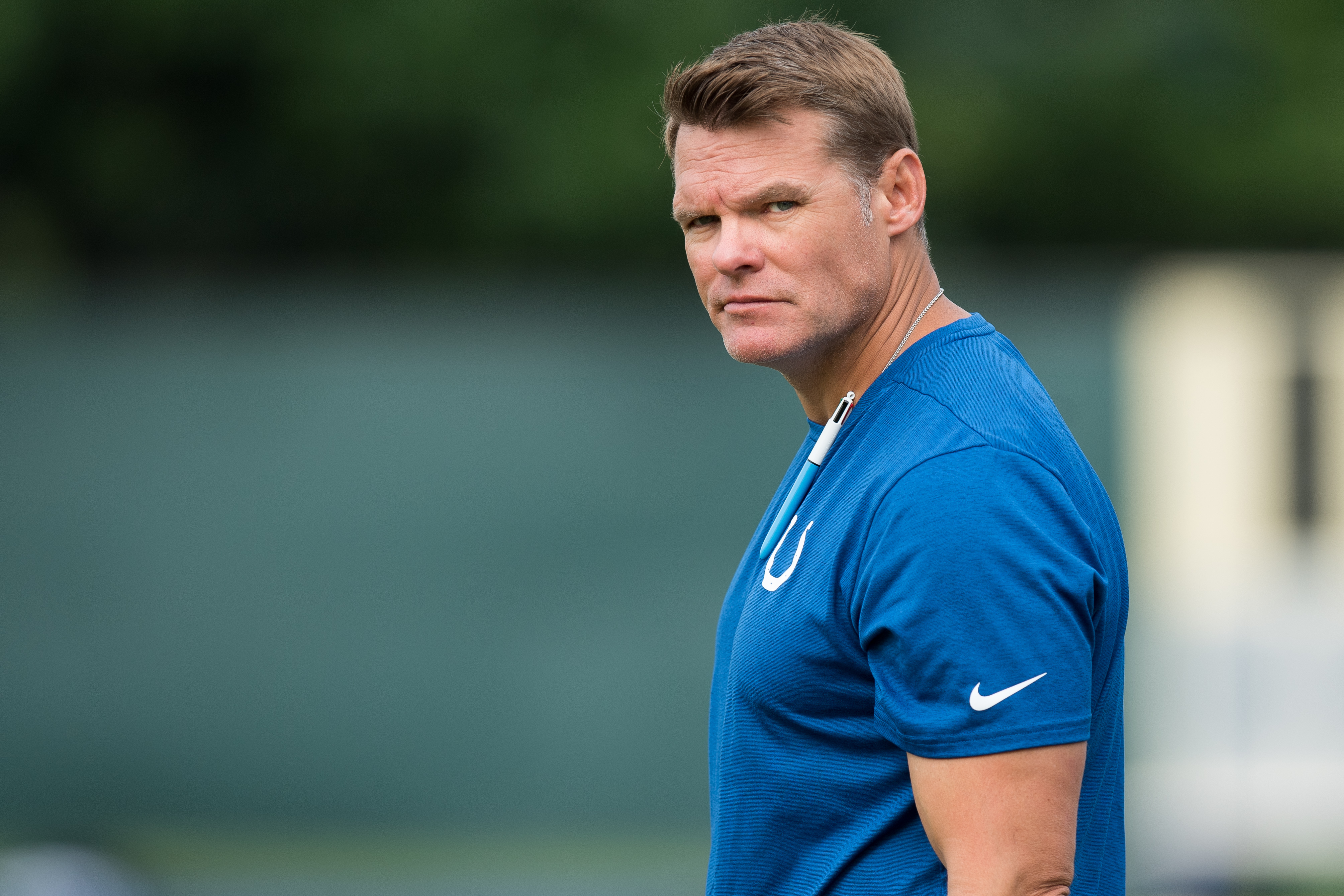 NFL: AUG 11 Colts Training Camp