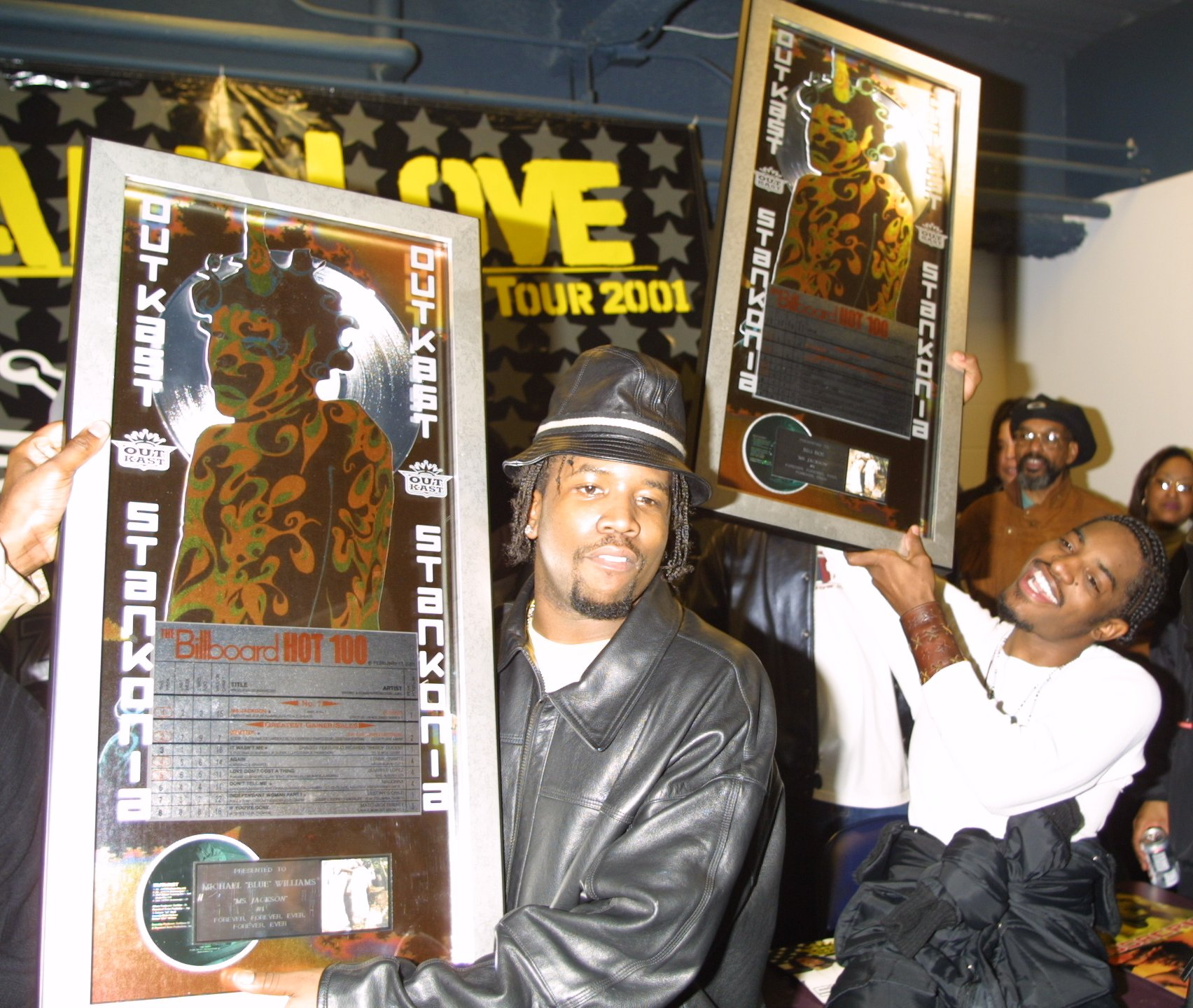 Outkast, Ludacris and Foxy Brown in Concert at Madison Square Garden