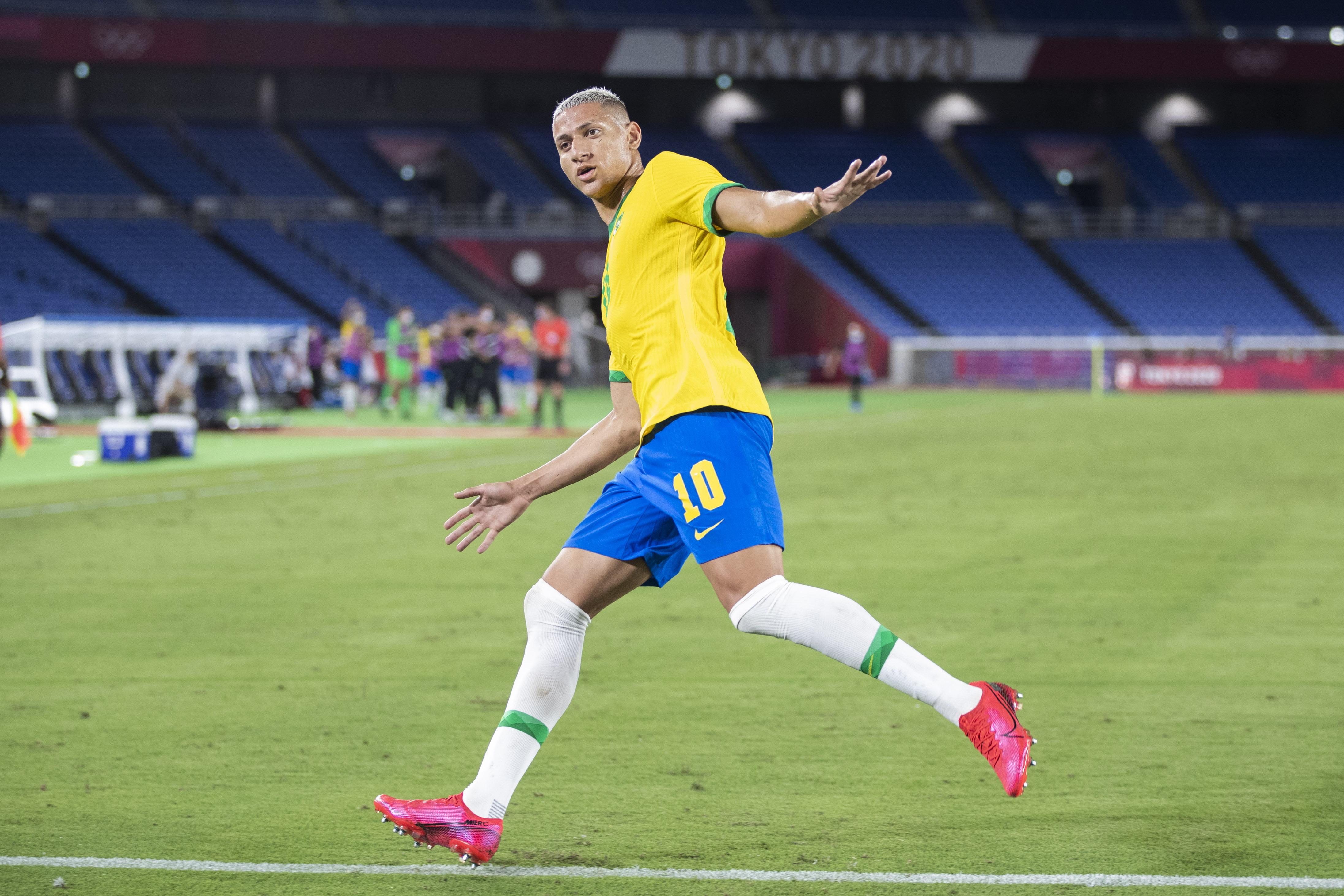 Brazil v Germany - Men's Football - Olympics Day -1