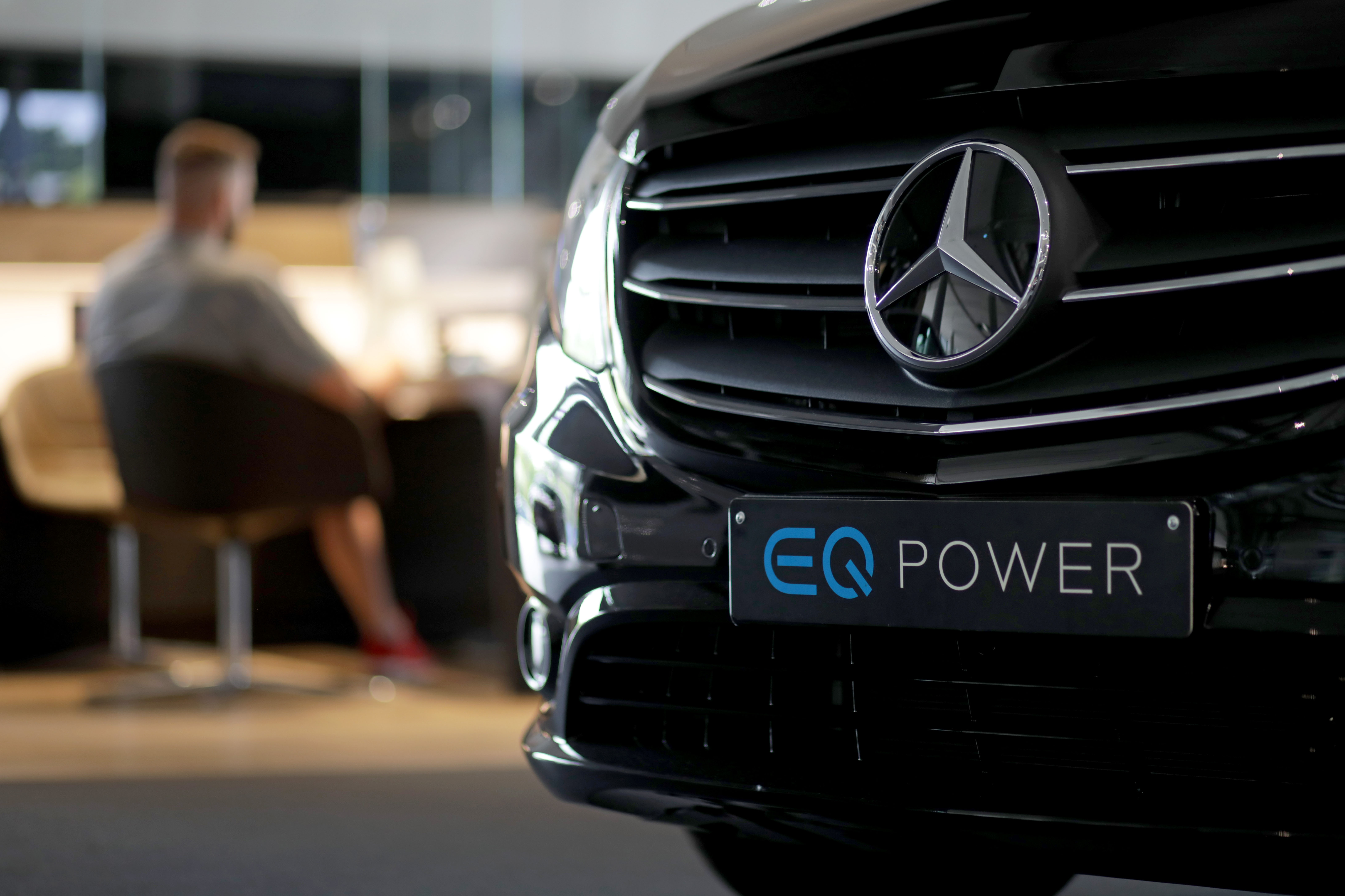 Mercedes-Benz AG Auto Showroom Ahead of Earnings