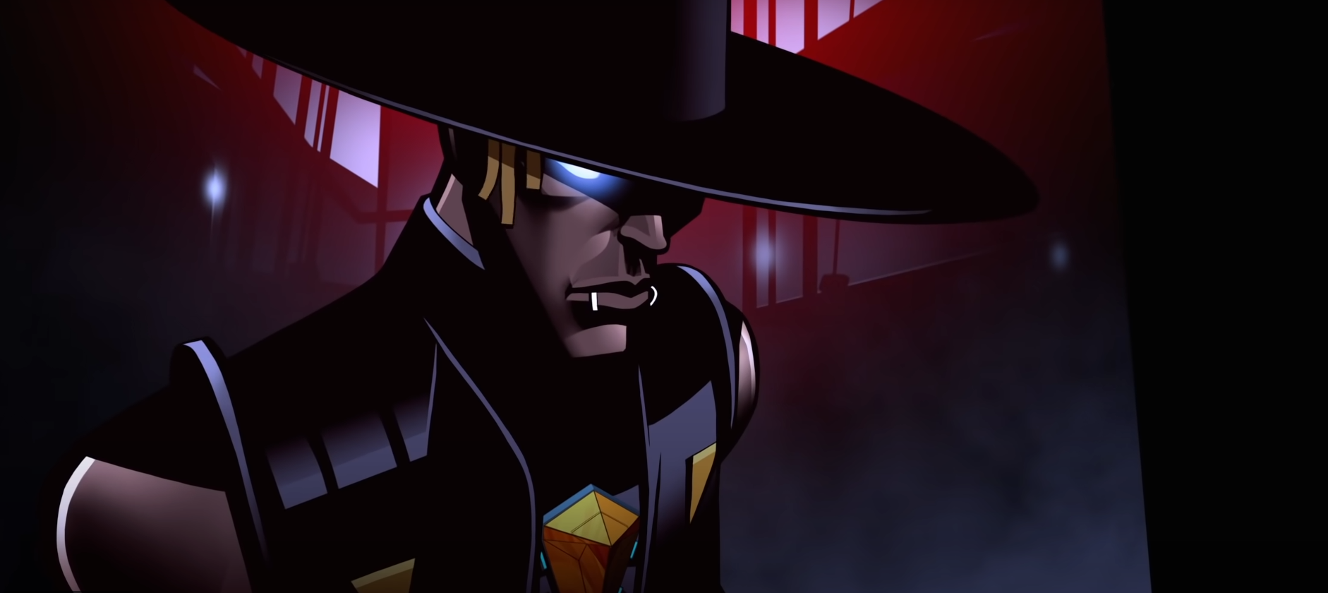 Seer from Apex Legends in his Stories from the Outlands animated short