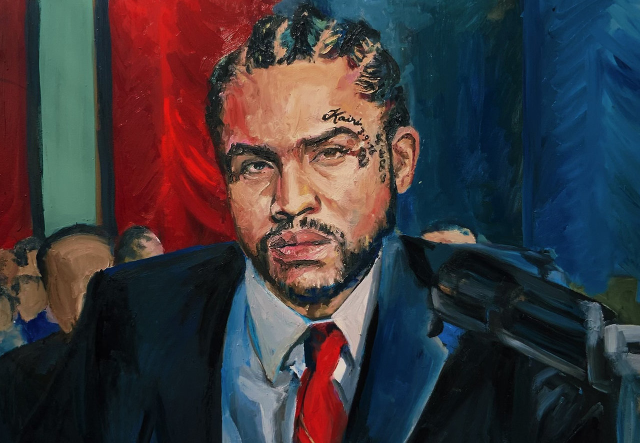 Dave East and Harry Fraud's 'HOFFA' artwork