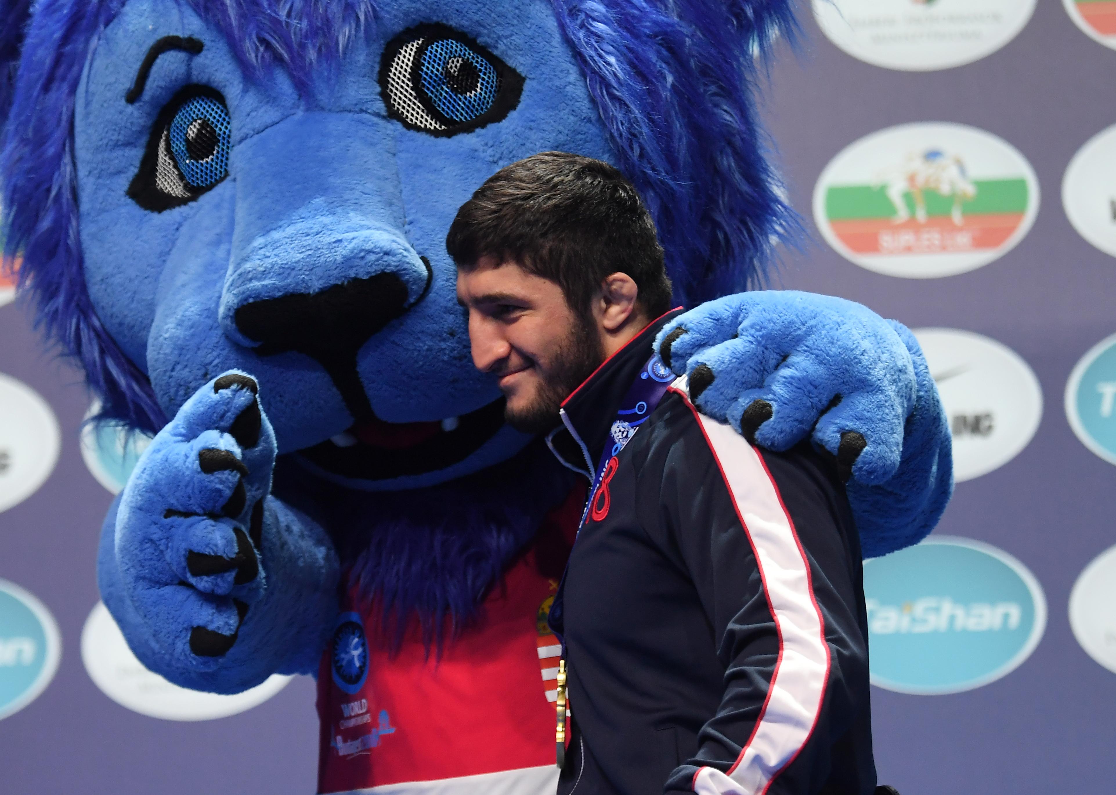 WRESTLING-WORLD Abdulrashid Sadulaev olympic wrestling