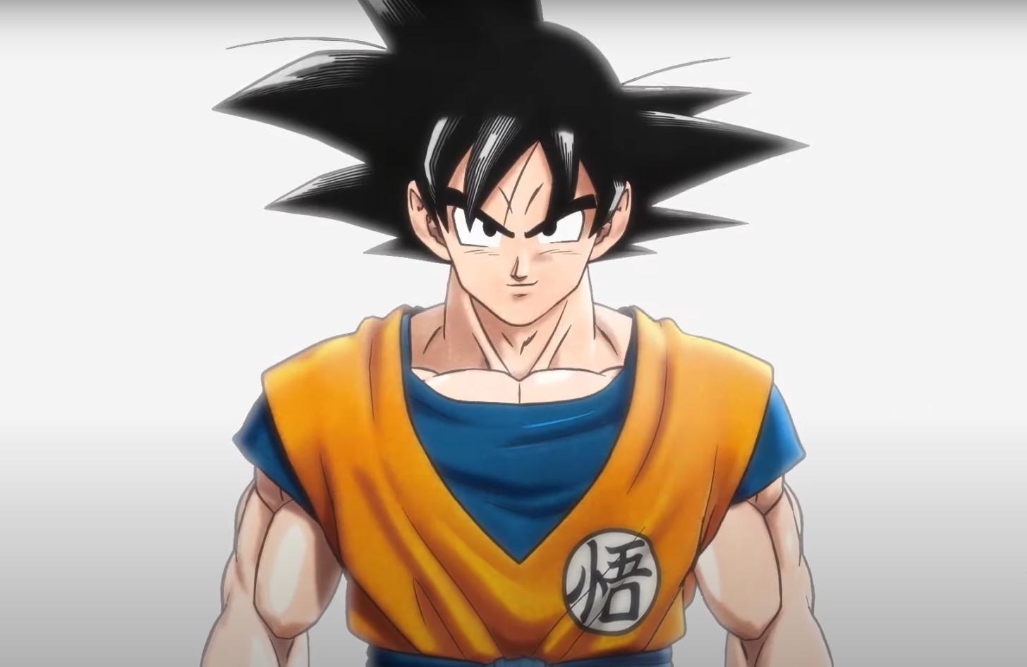 Goku from the teaser trailer for Dragon Ball Super: Superhero