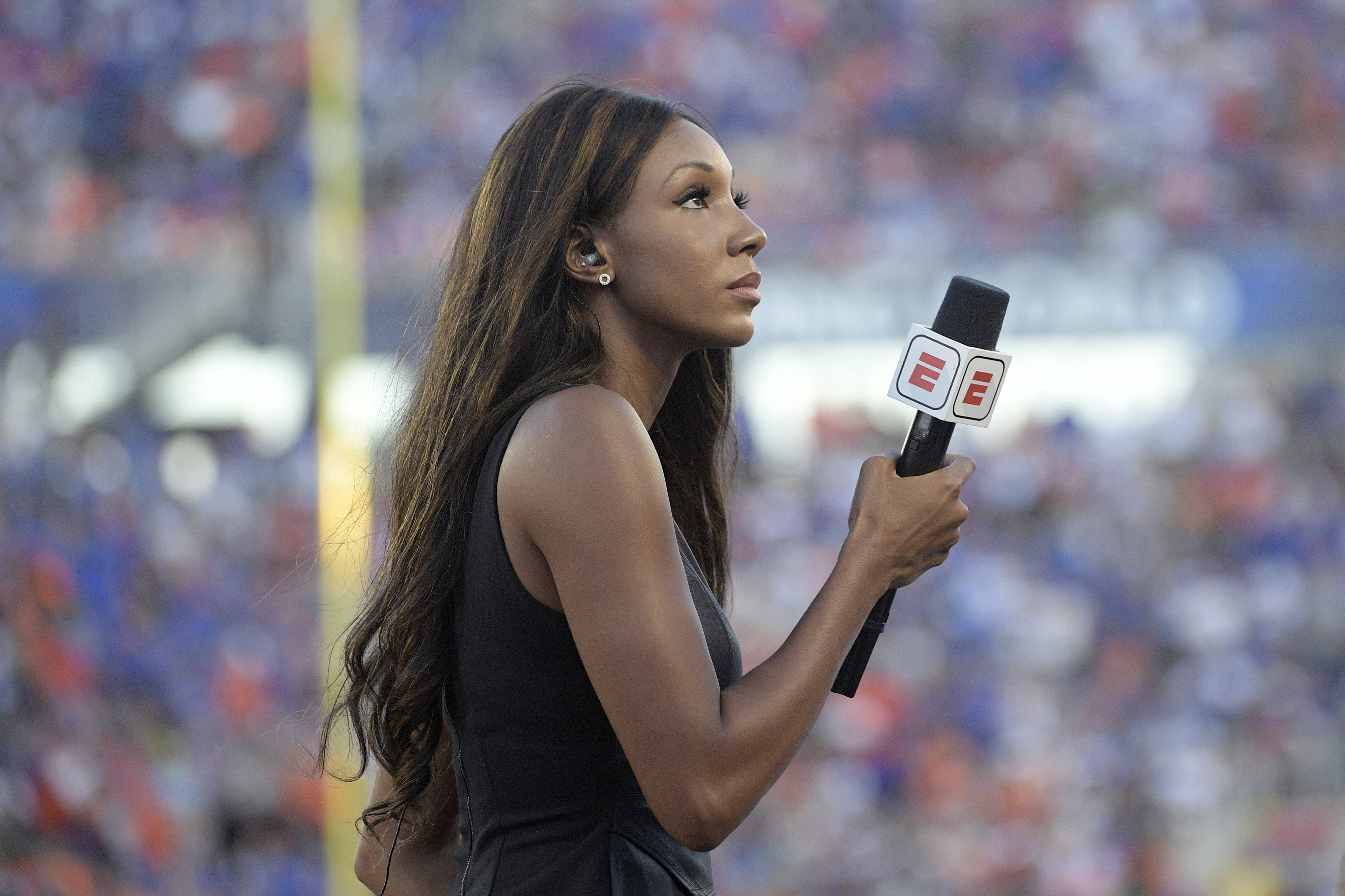 Former ESPN broadcaster Maria Taylor has signed with NBC.